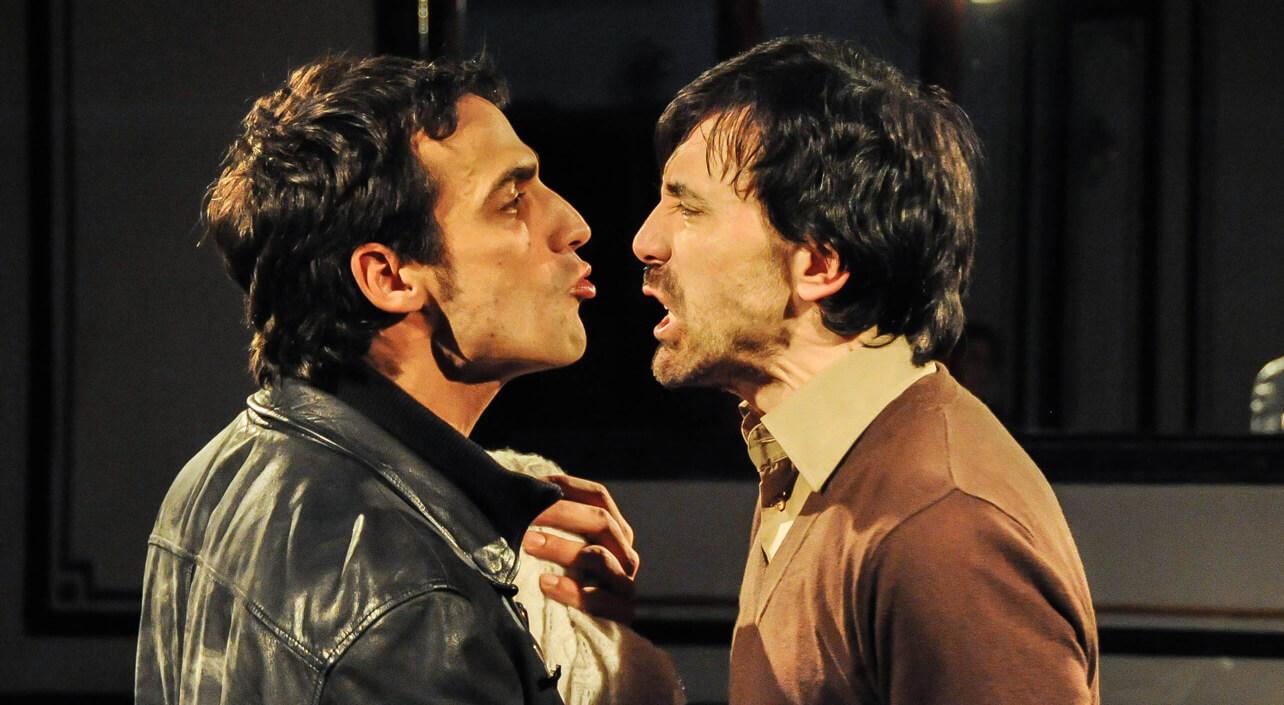 Raúl Prieto e Israel Elejalde, en La Función por Hacer