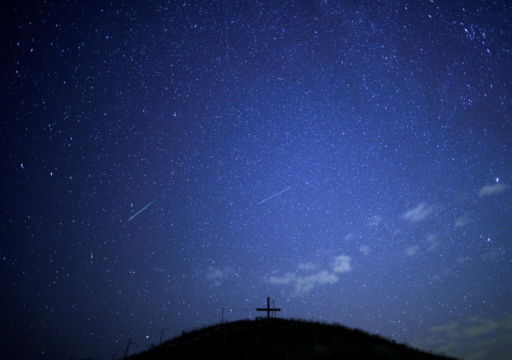 Atravesamos el rastro de un cometa