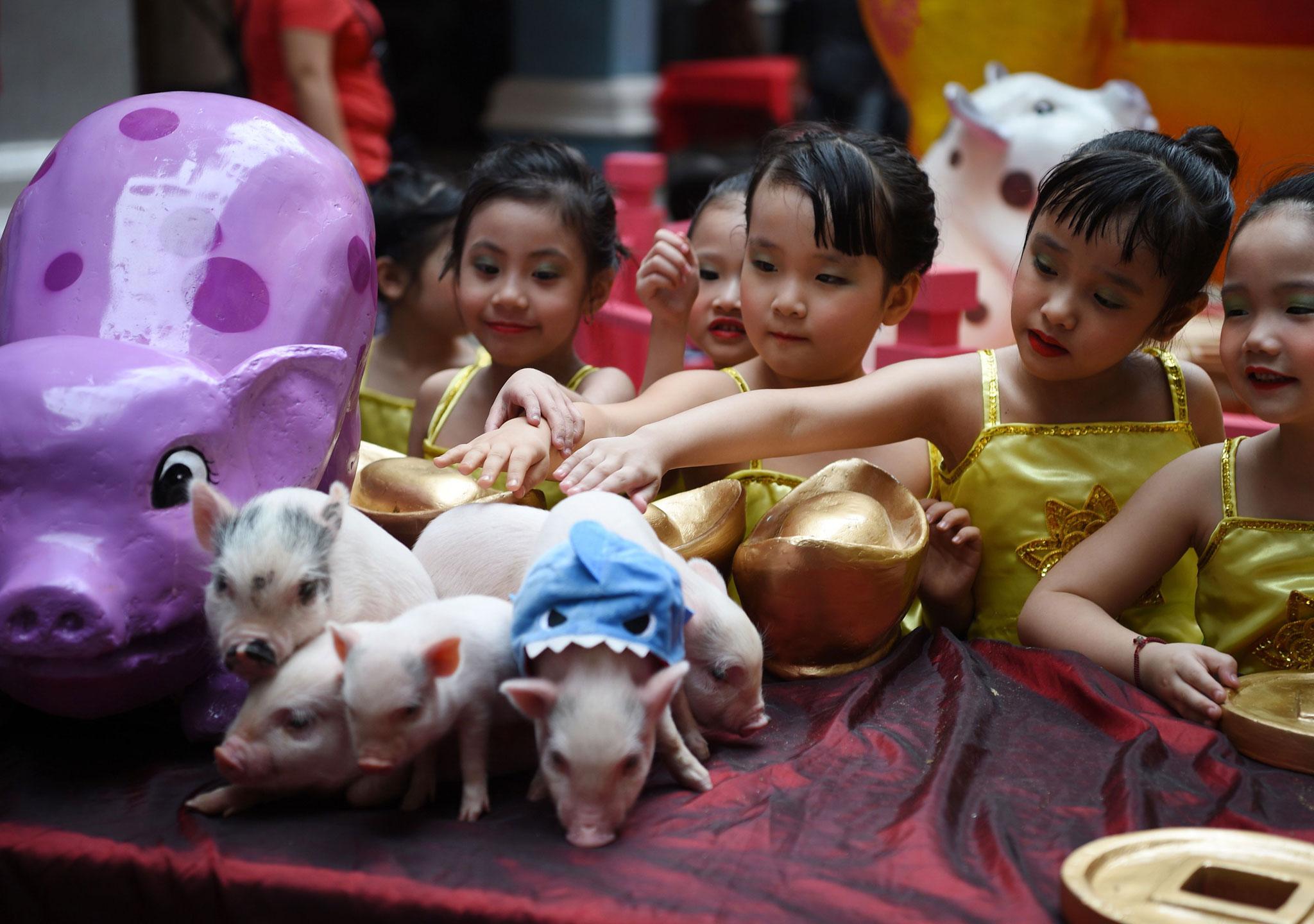 Celebración en Manila