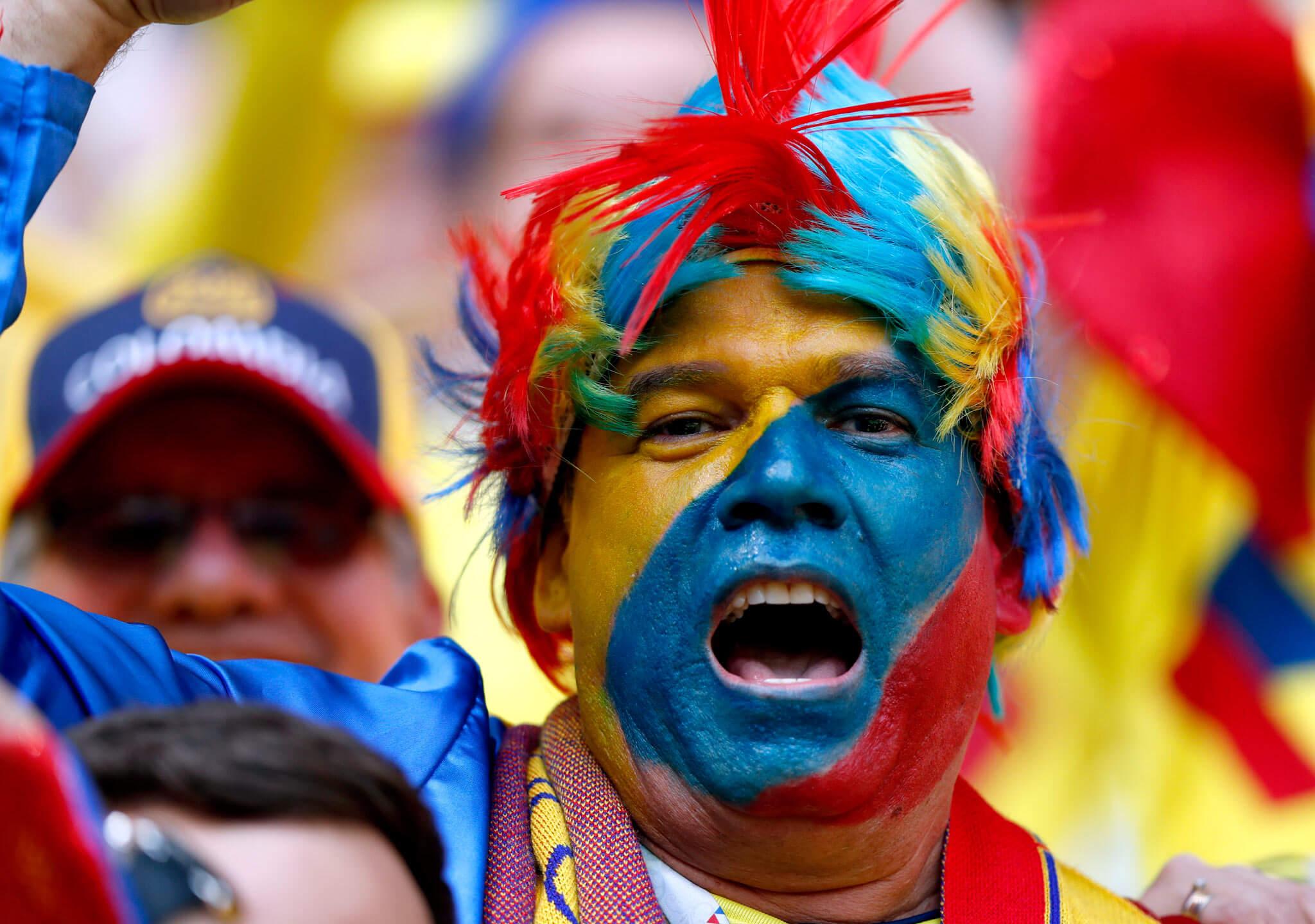 Colombia da color al mundial