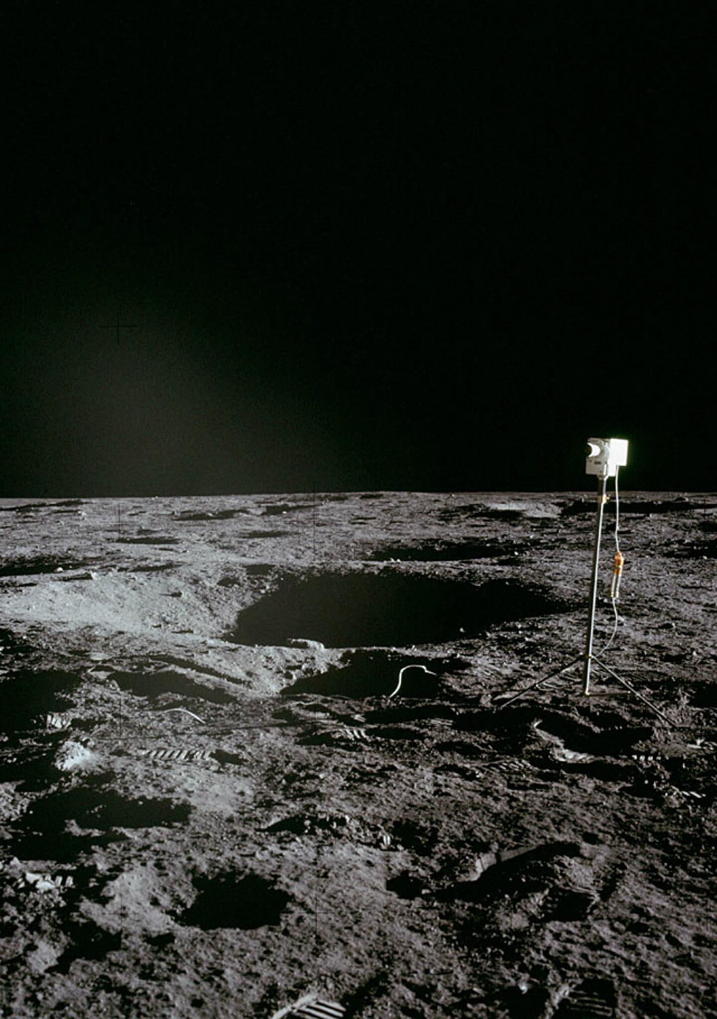 ¿Cuántas cosas se quedaron en la Luna?