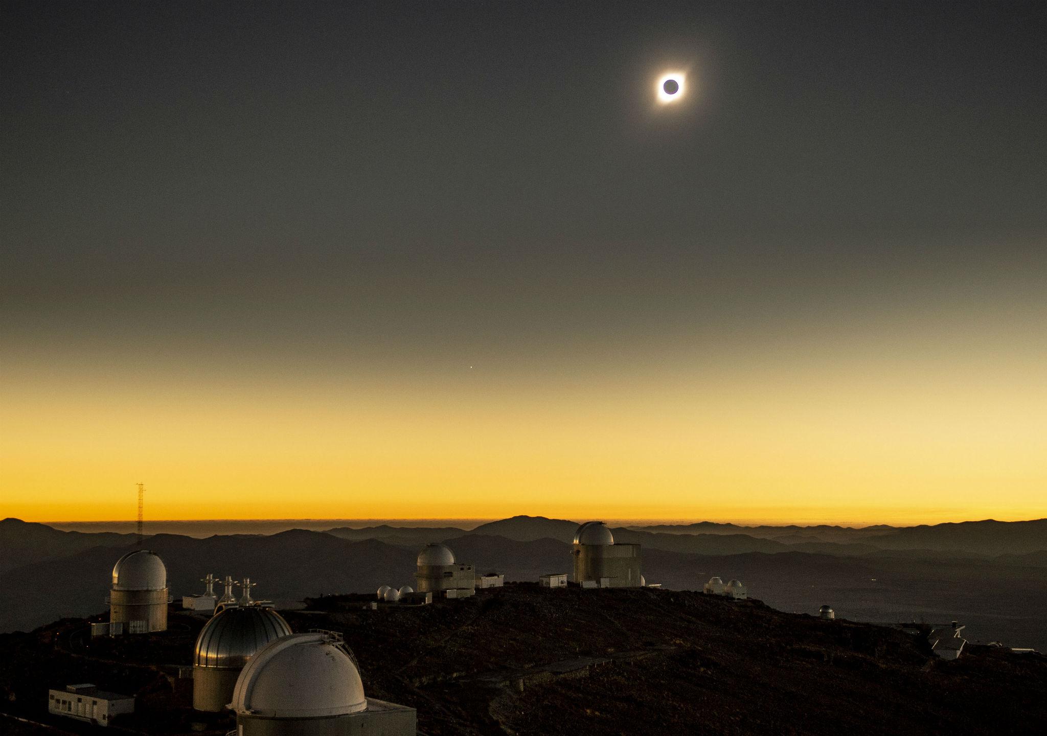 Desde el Observatorio de La Silla