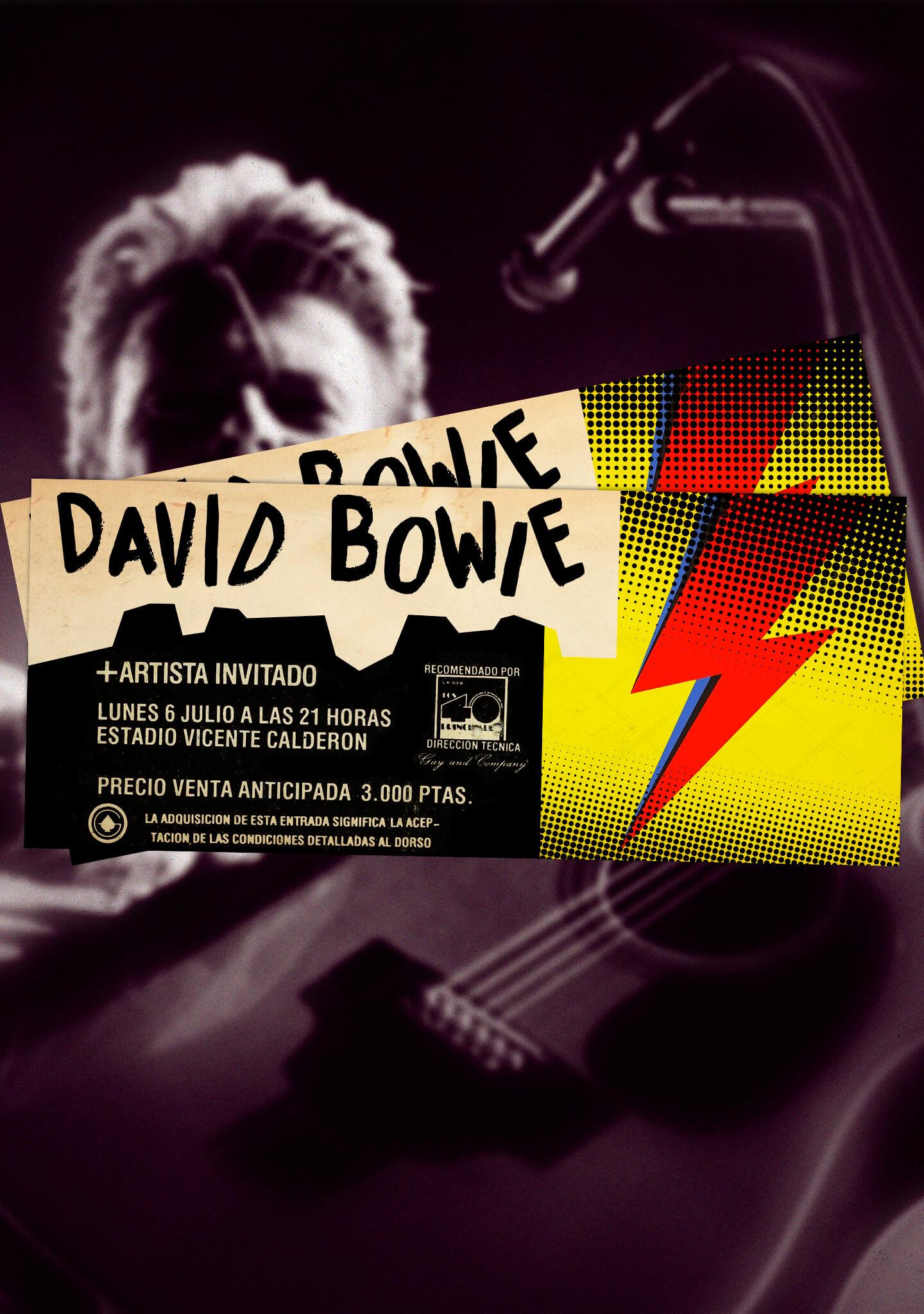 El concierto de un icono de la música, David Bowie
