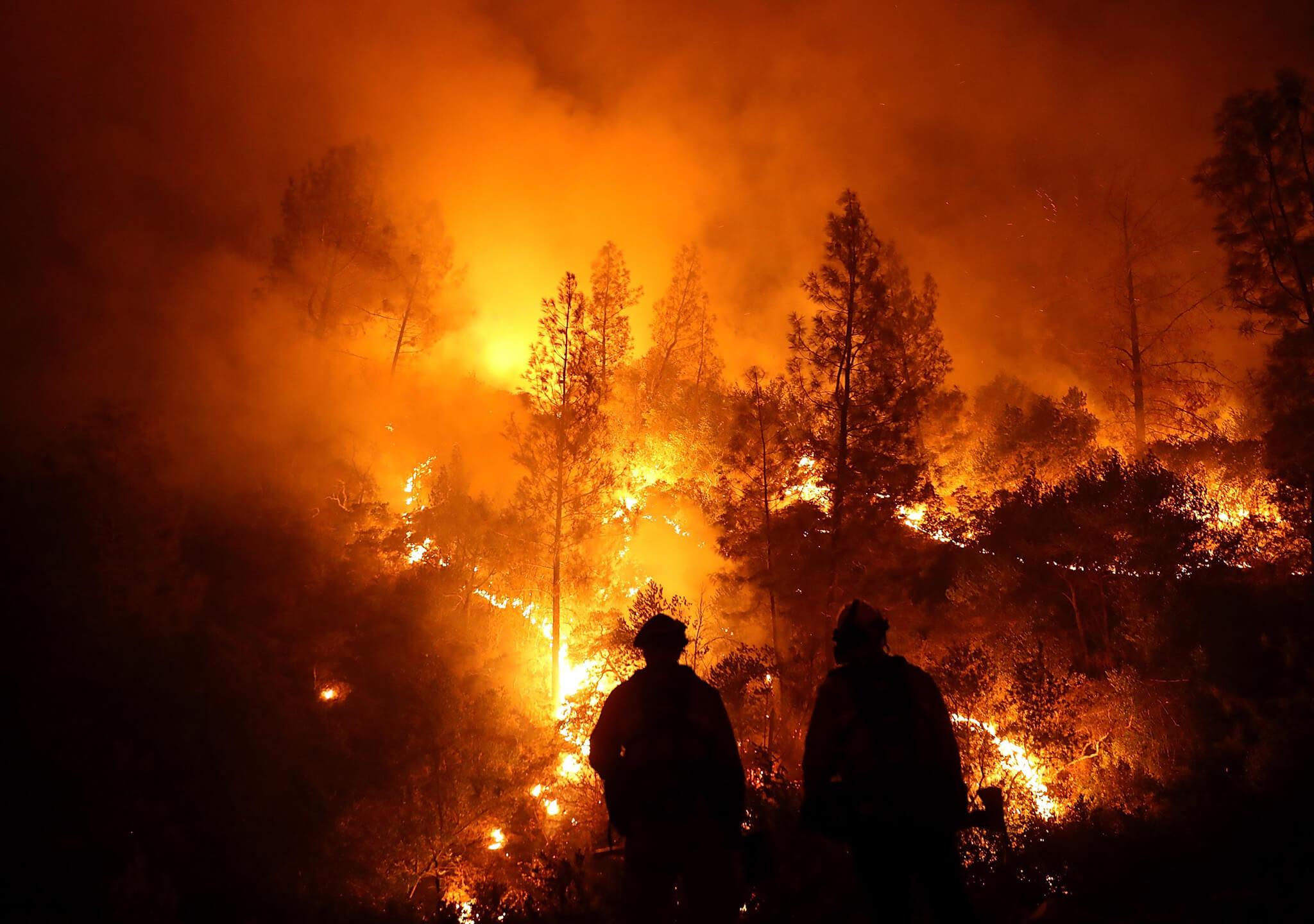 El peor incendio para California