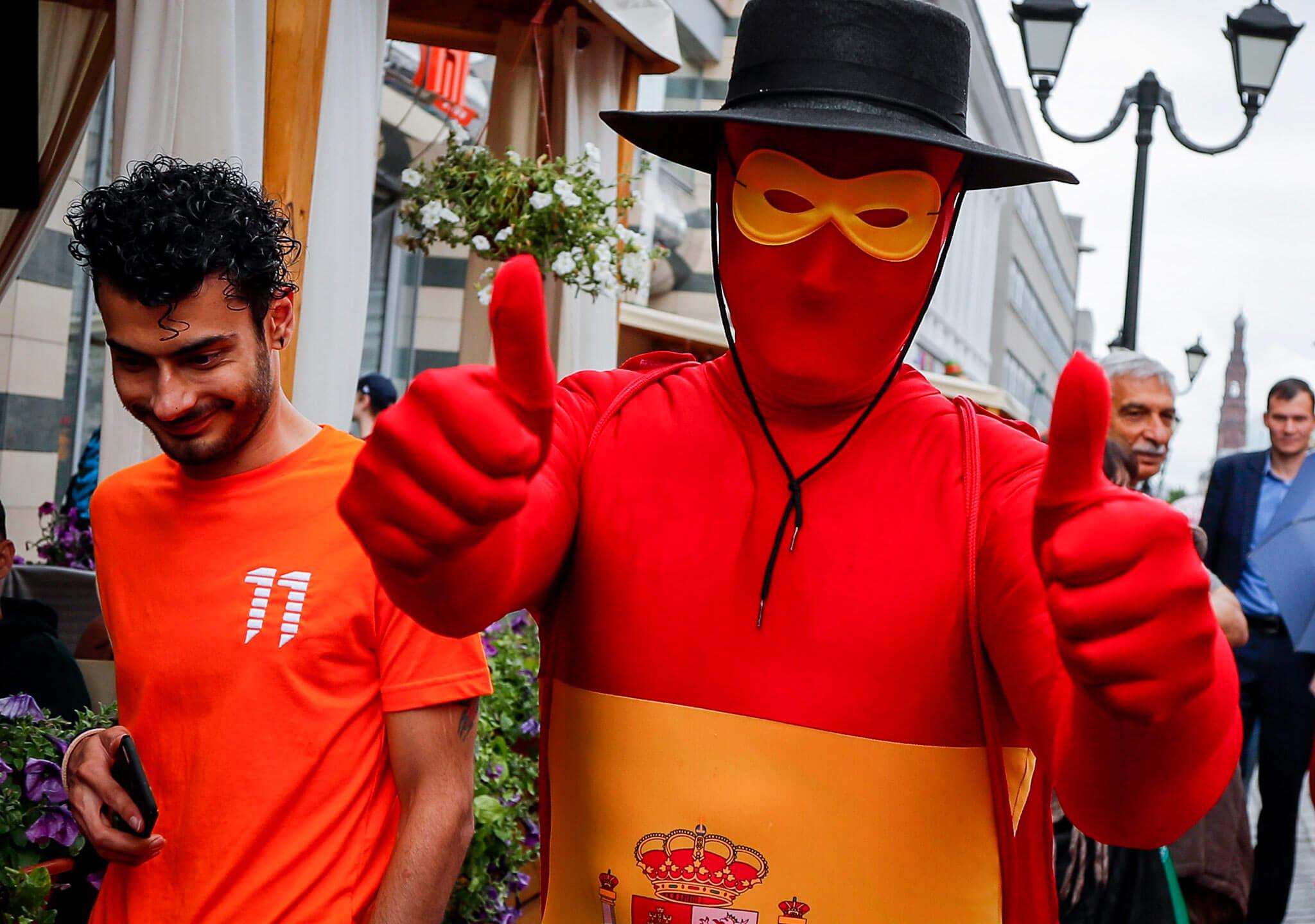 El súper héroe español