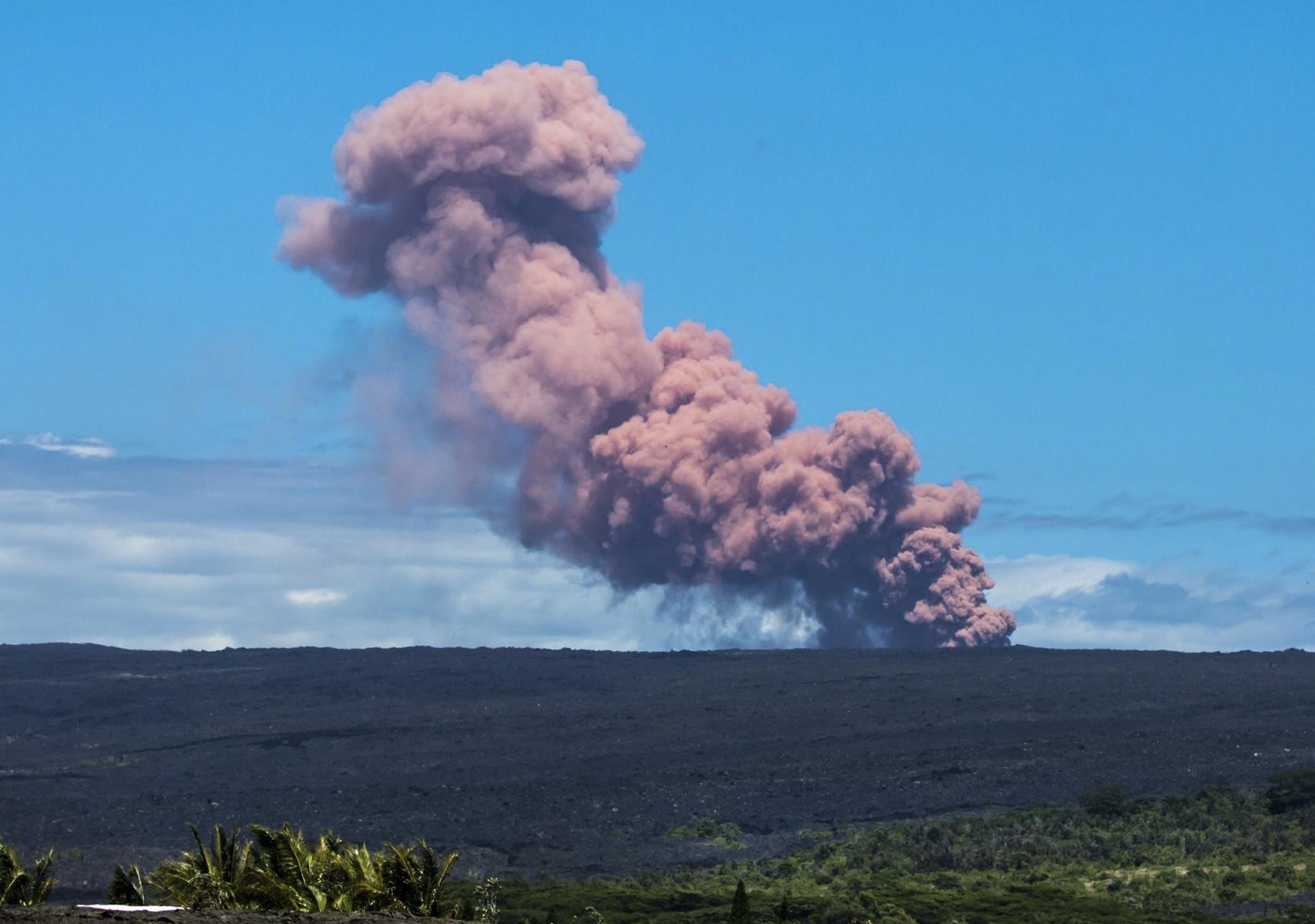 El volcán Kilauea despierta en Hawai