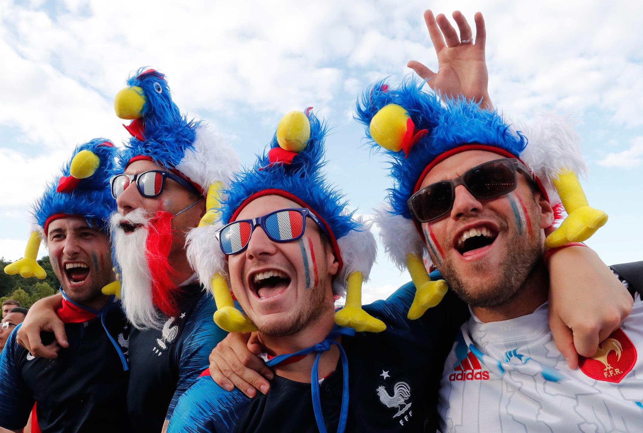 Francia y sus gallos de pelea