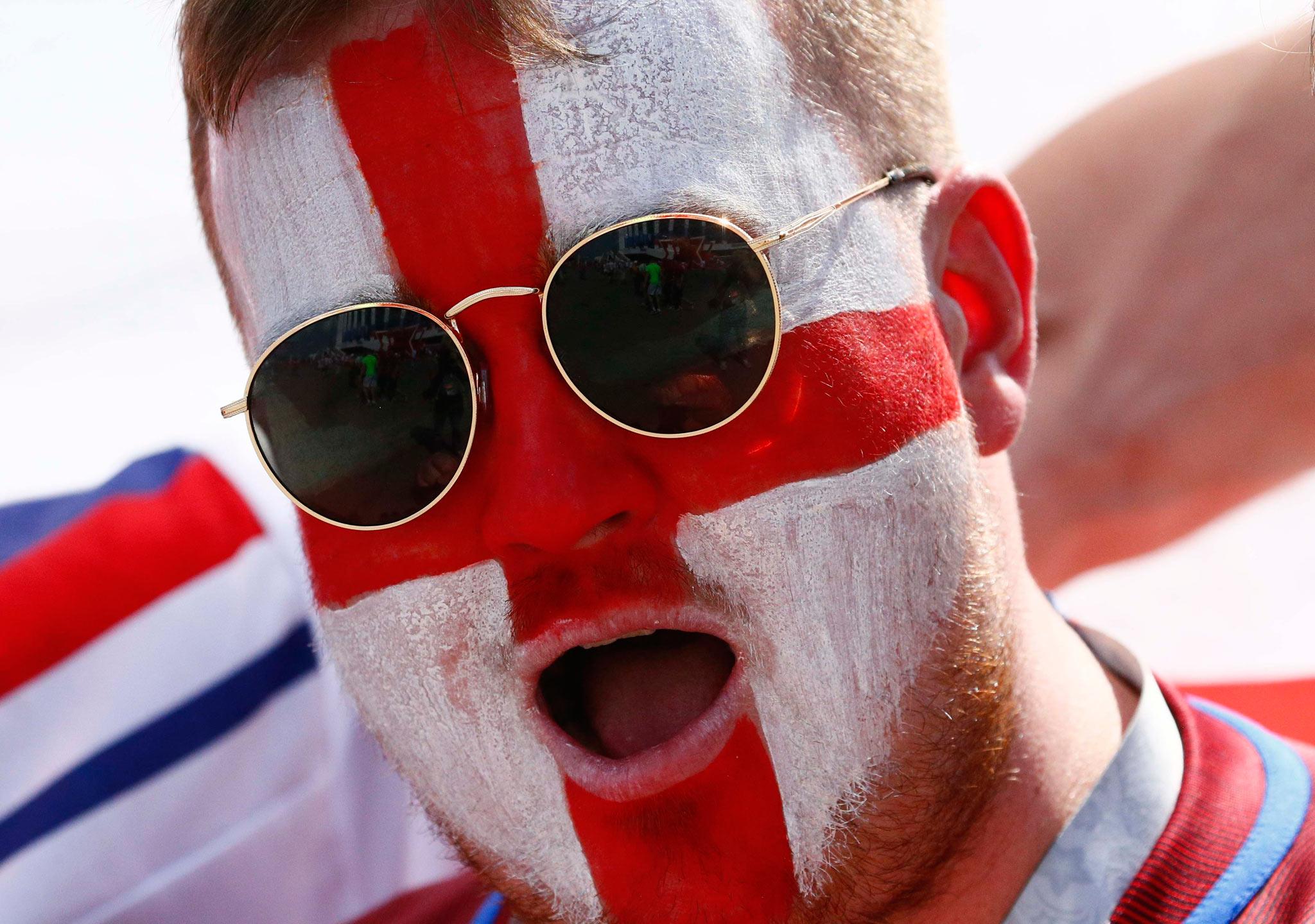 Inglaterra muestra su fuerza