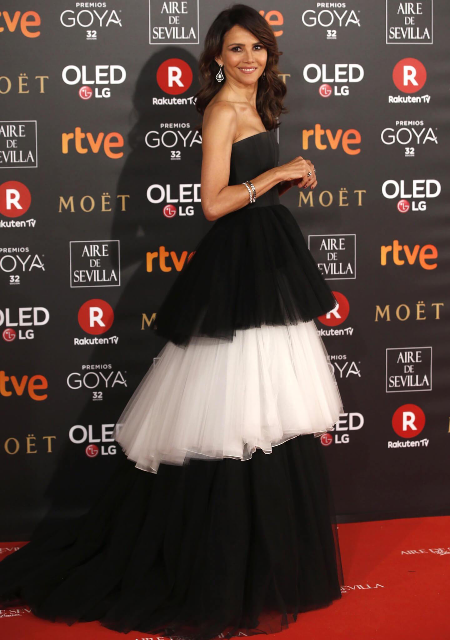 La actriz Goya Toledo