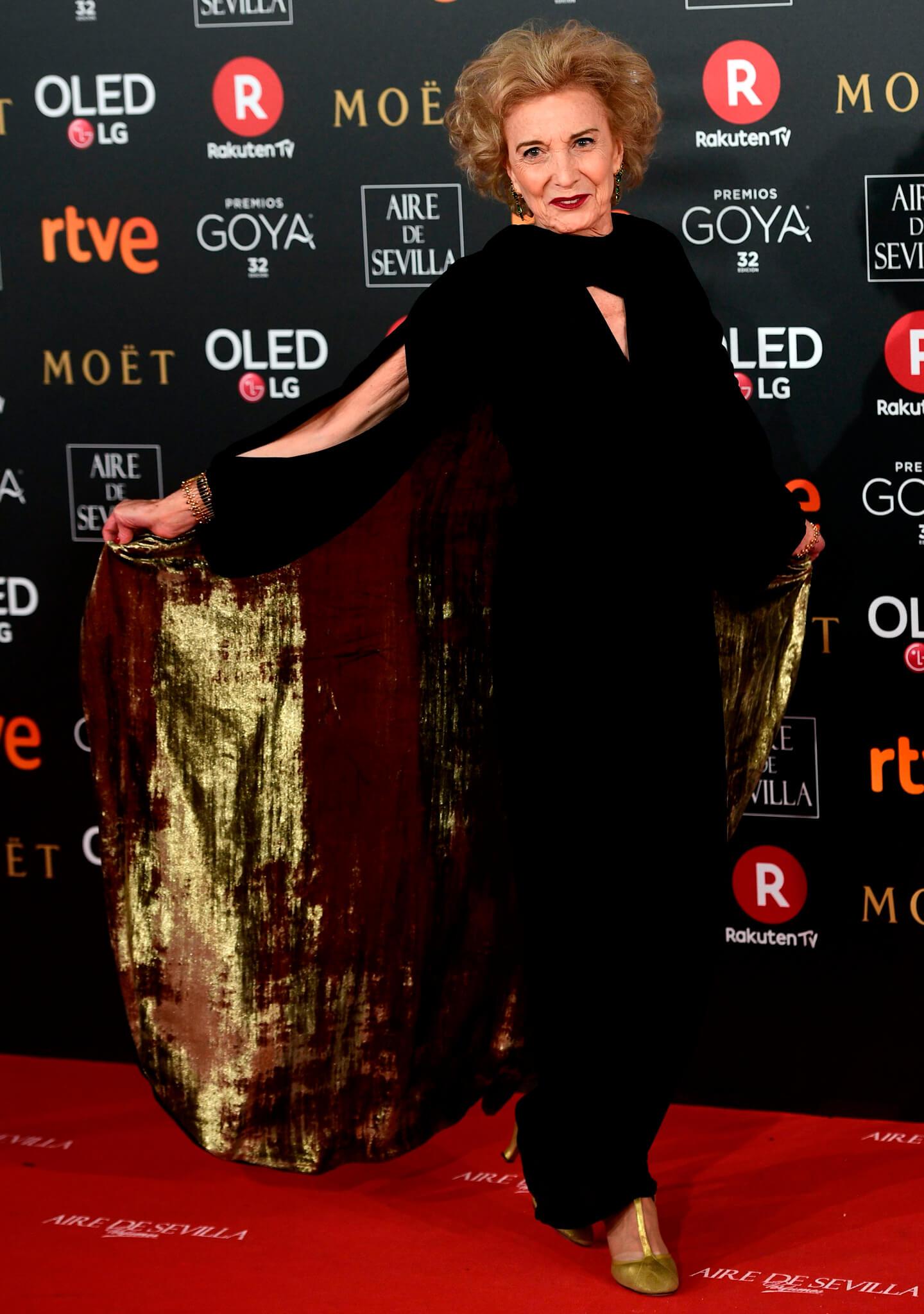 La actriz Marisa Paredes, galardonada con el Goya de Honor