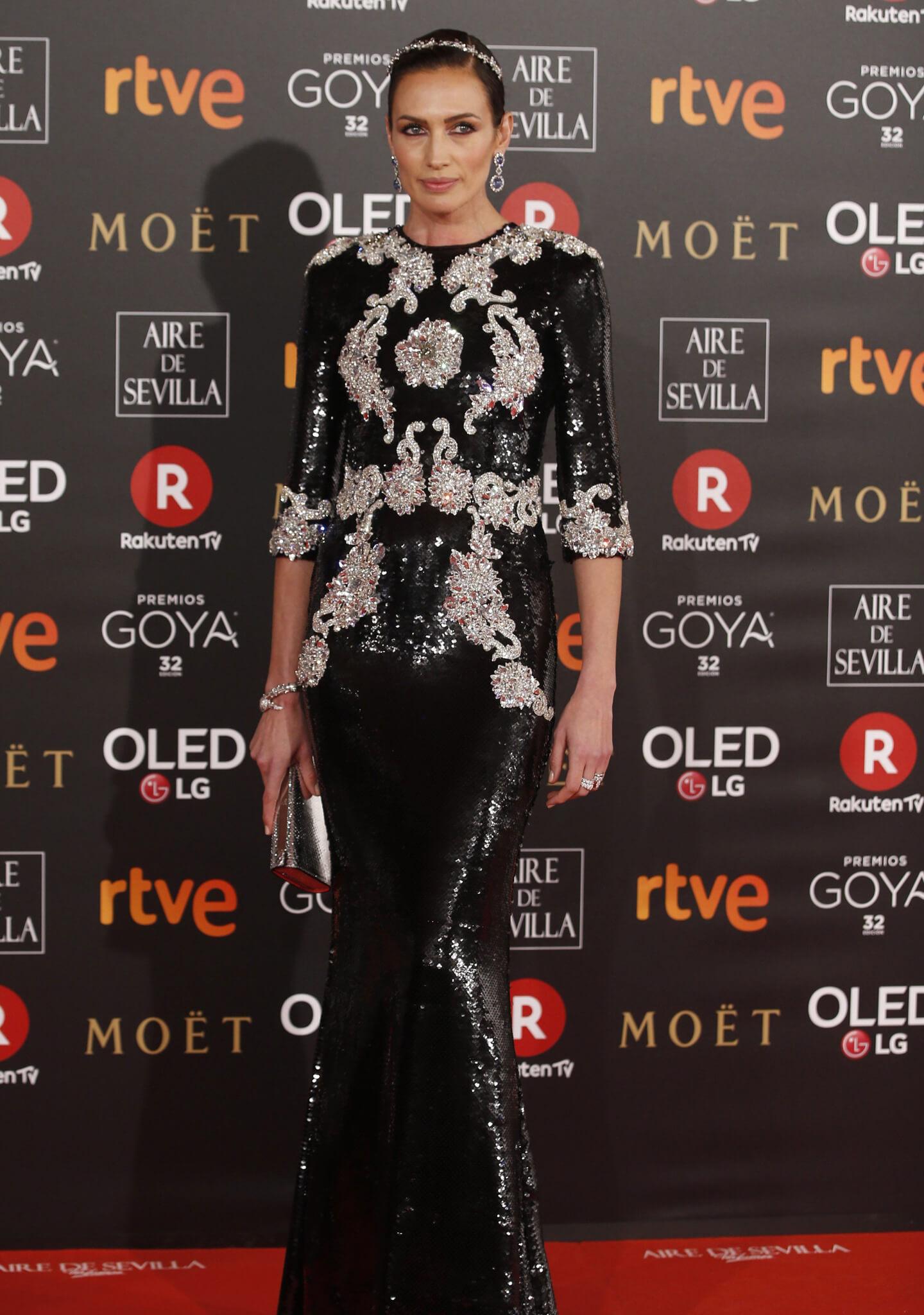La actriz Nieves Álvarez