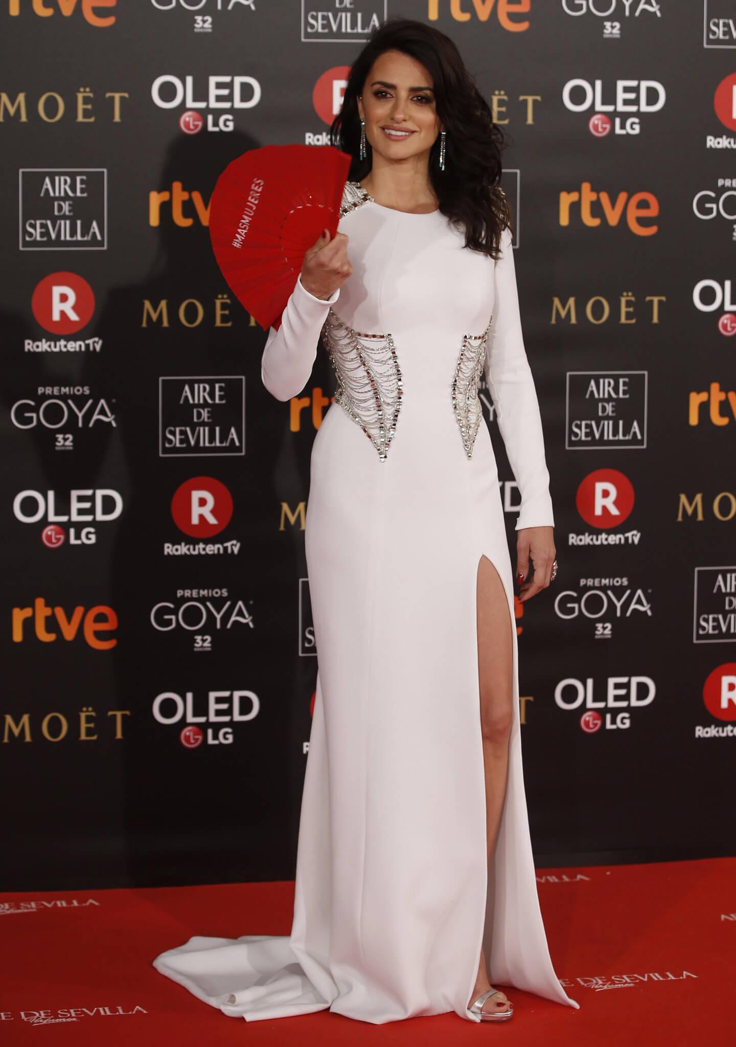 La actriz Penélope Cruz, nominada a mejor actriz por 'Loving Pablo'