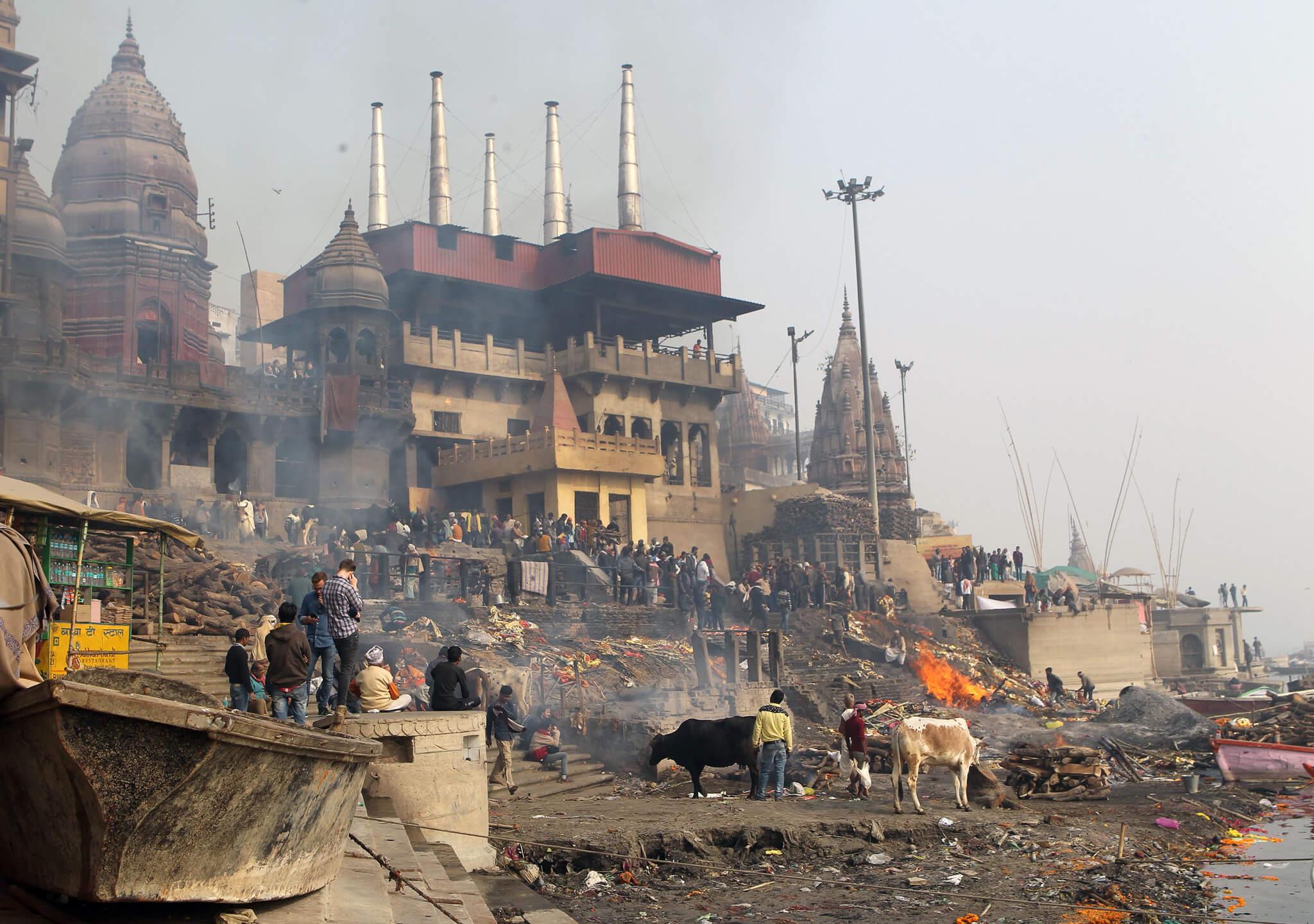 La ciudad sagrada de Varanasi