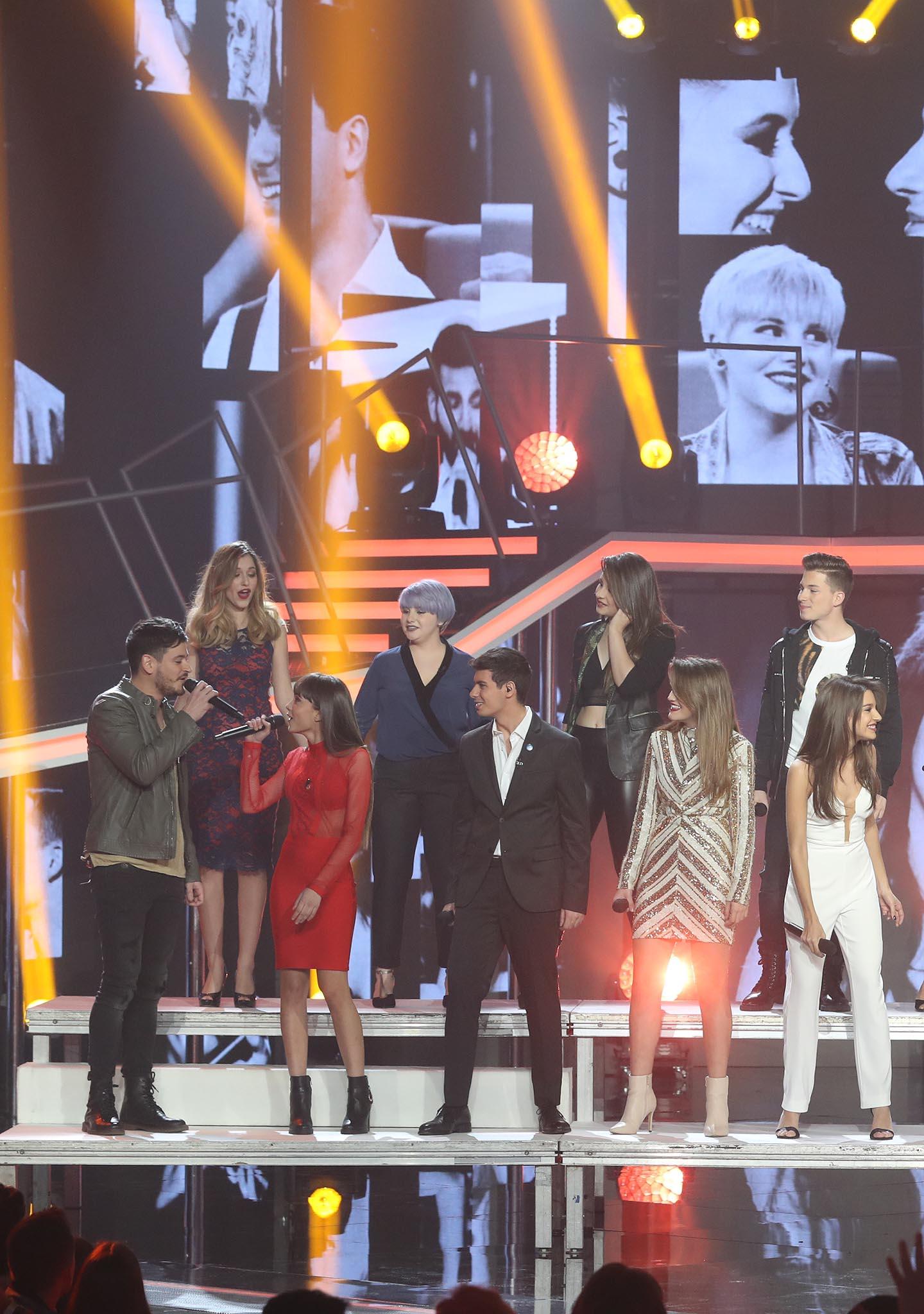 Las canciones grupales de la Gala Fiesta de OT