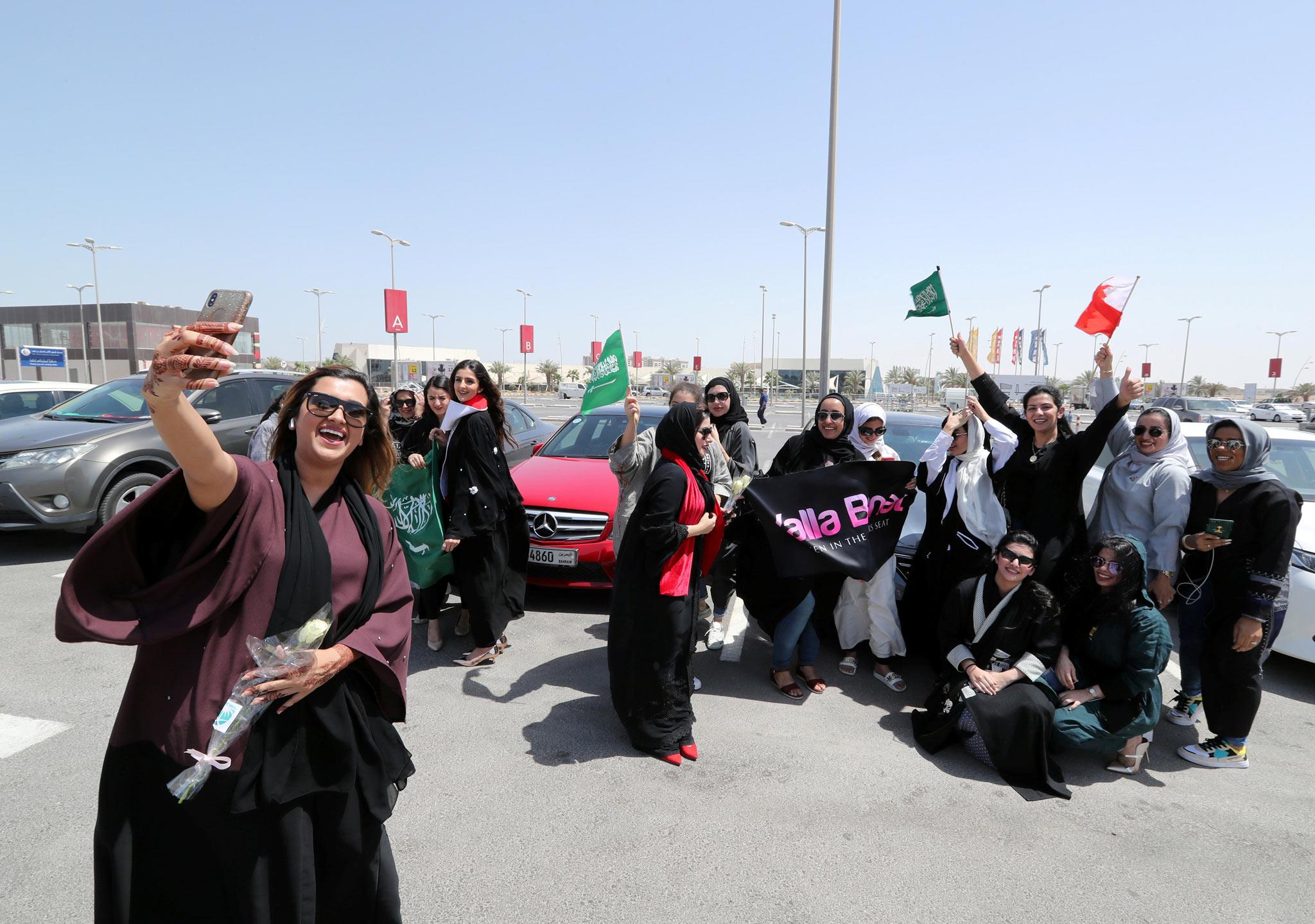 Las mujeres saudíes hacen historia