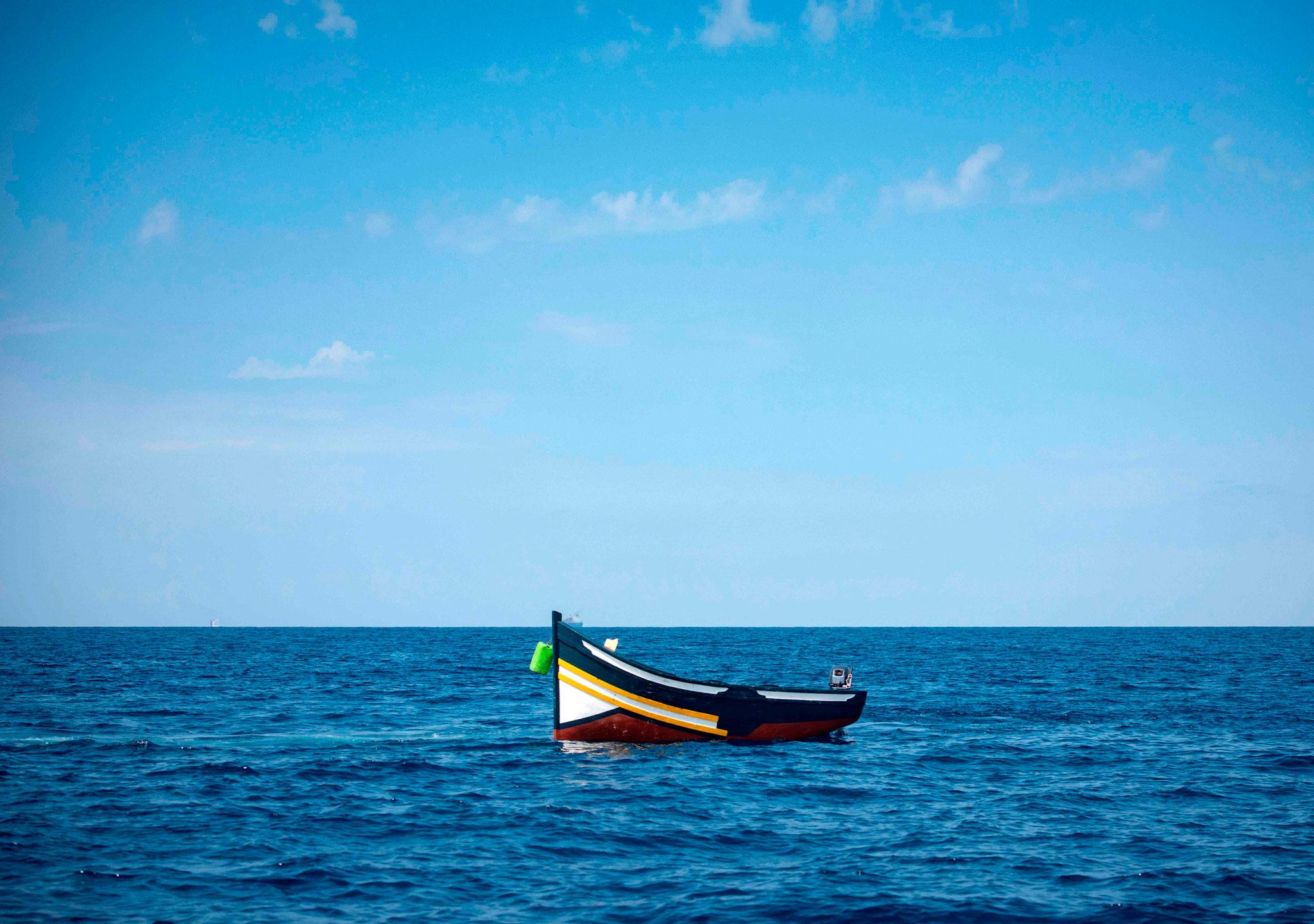 Más de 1.500 fallecidos en el mar