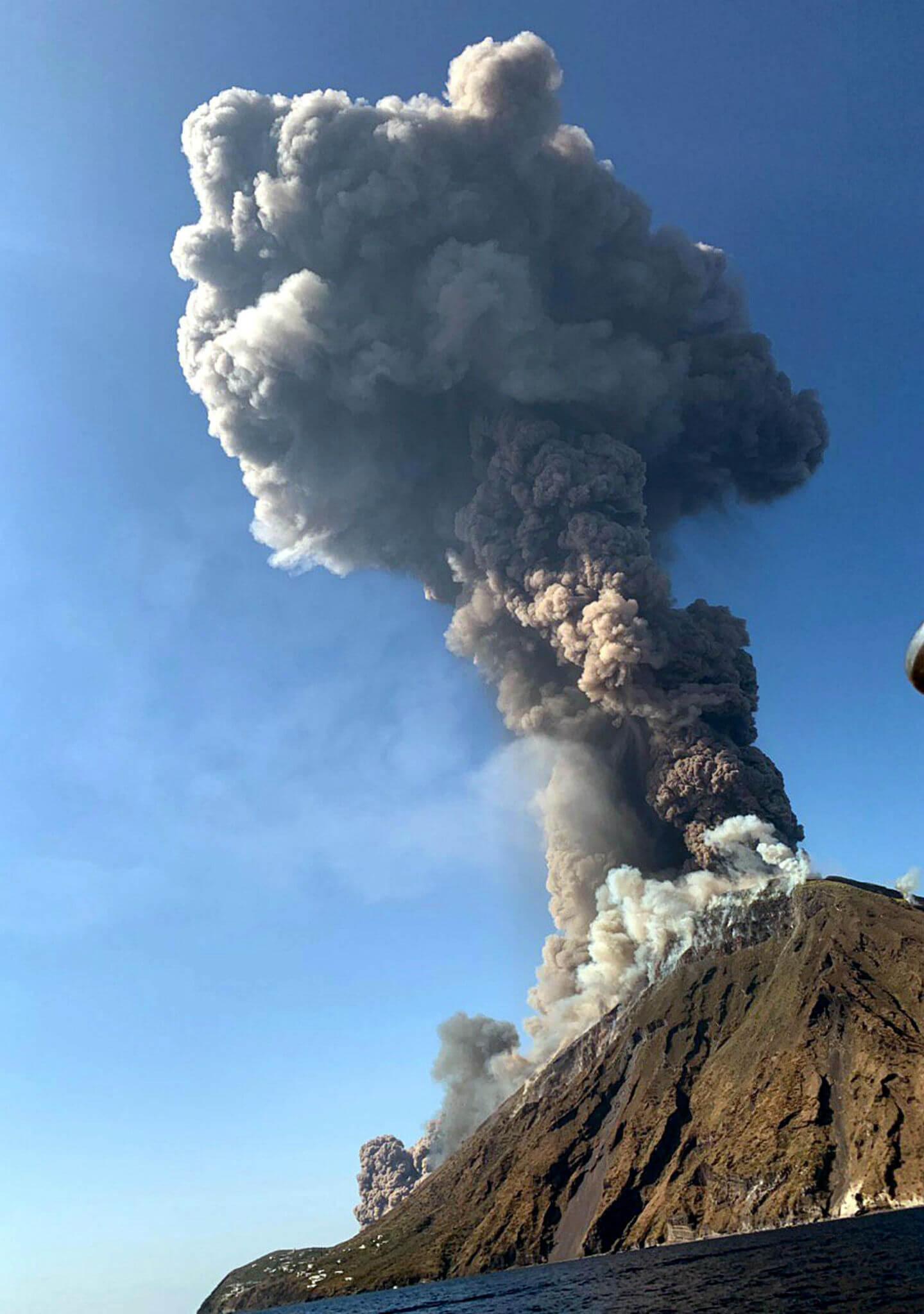 Normalidad tras la erupción