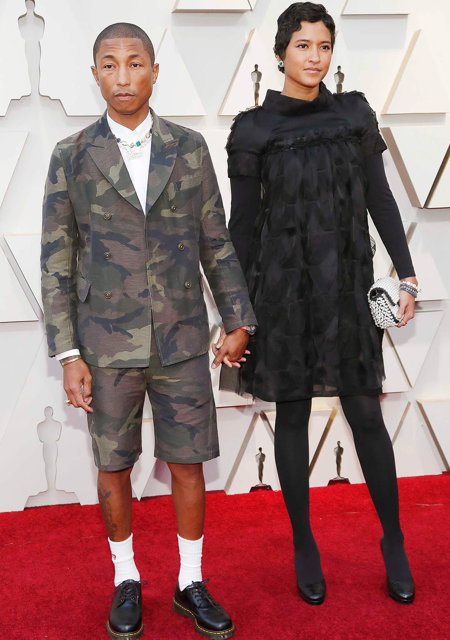 Oscar 2019: alfombra roja - Pharrell Williams y Helen ...