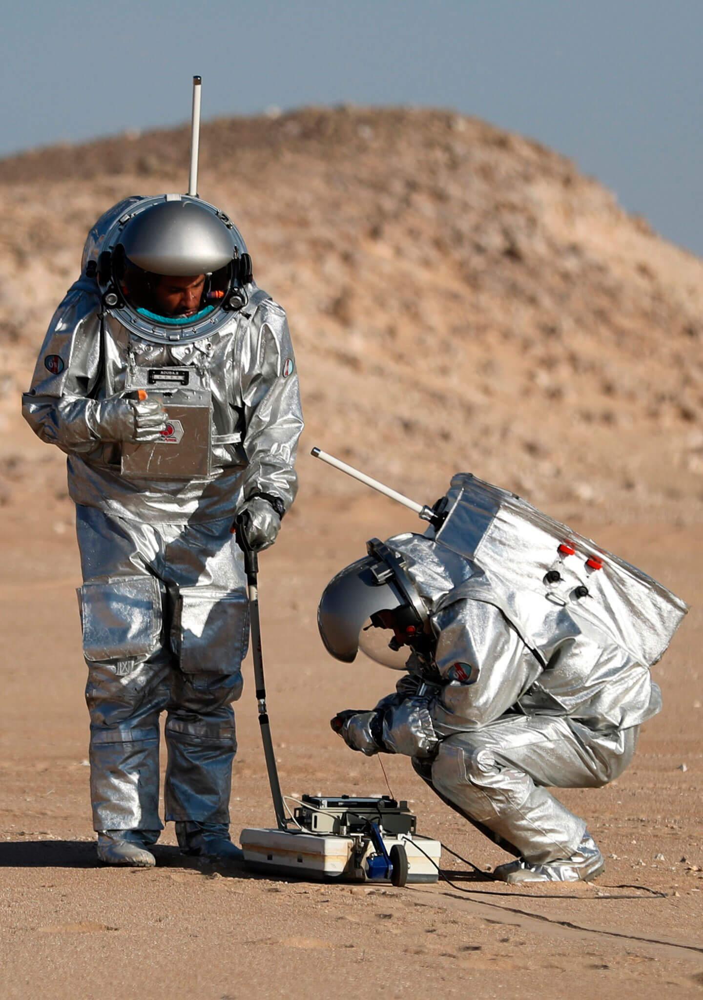 Recrean las condiciones de Marte en Oman