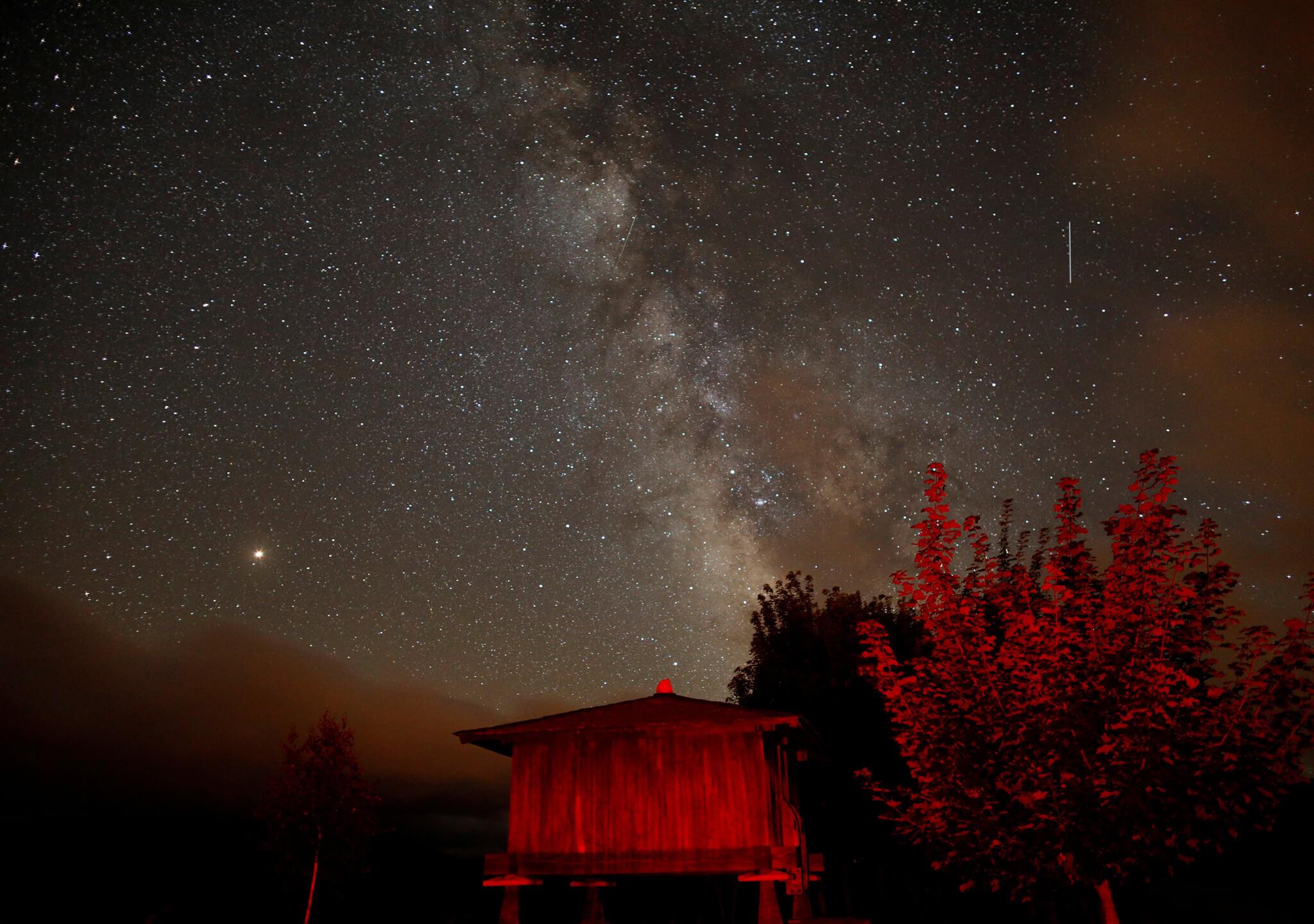 San Lorenzo llora estrellas fugaces