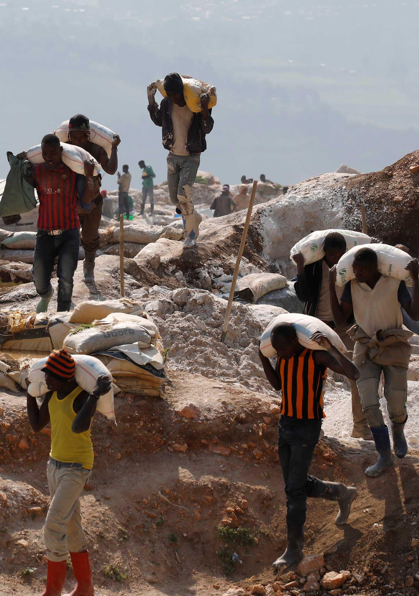 Solo el  3% de las minas de Congo son oficiales