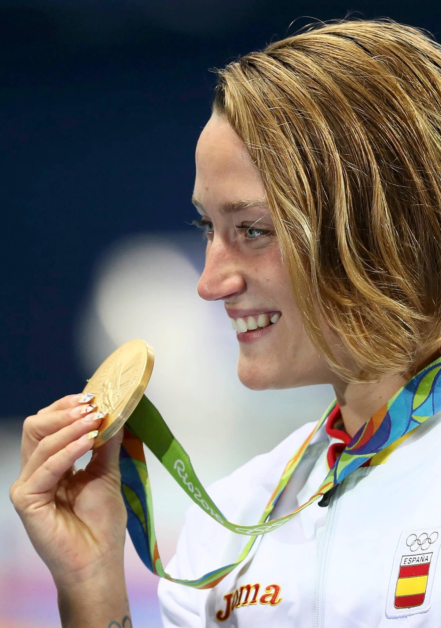Su cuarta medalla olímpica
