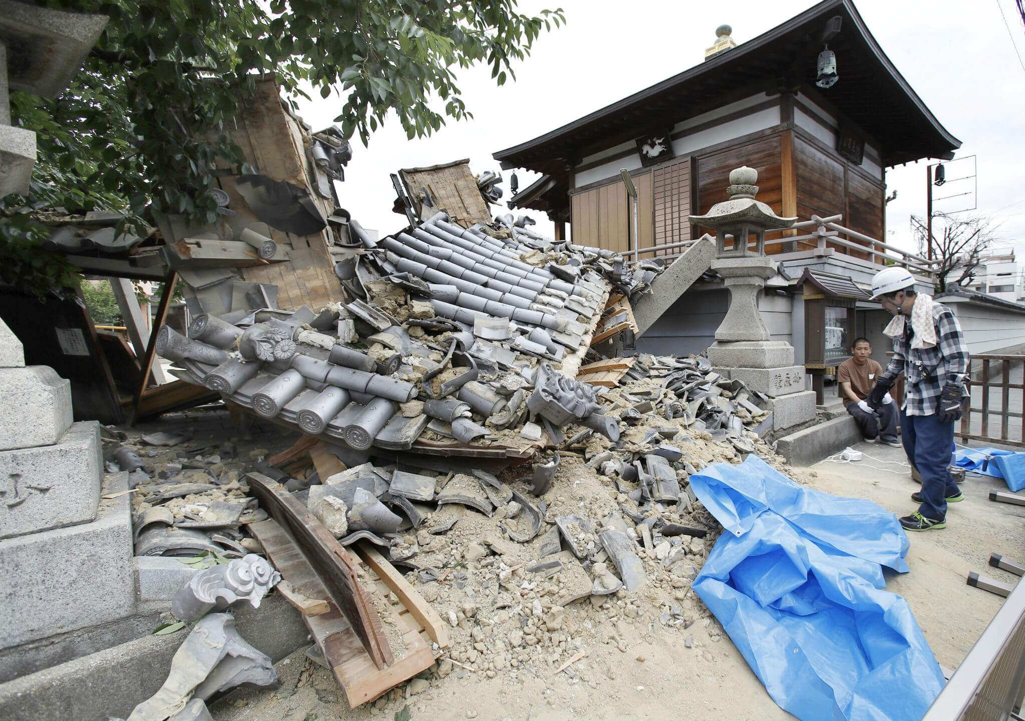 Terremoto de magnitud 6.1