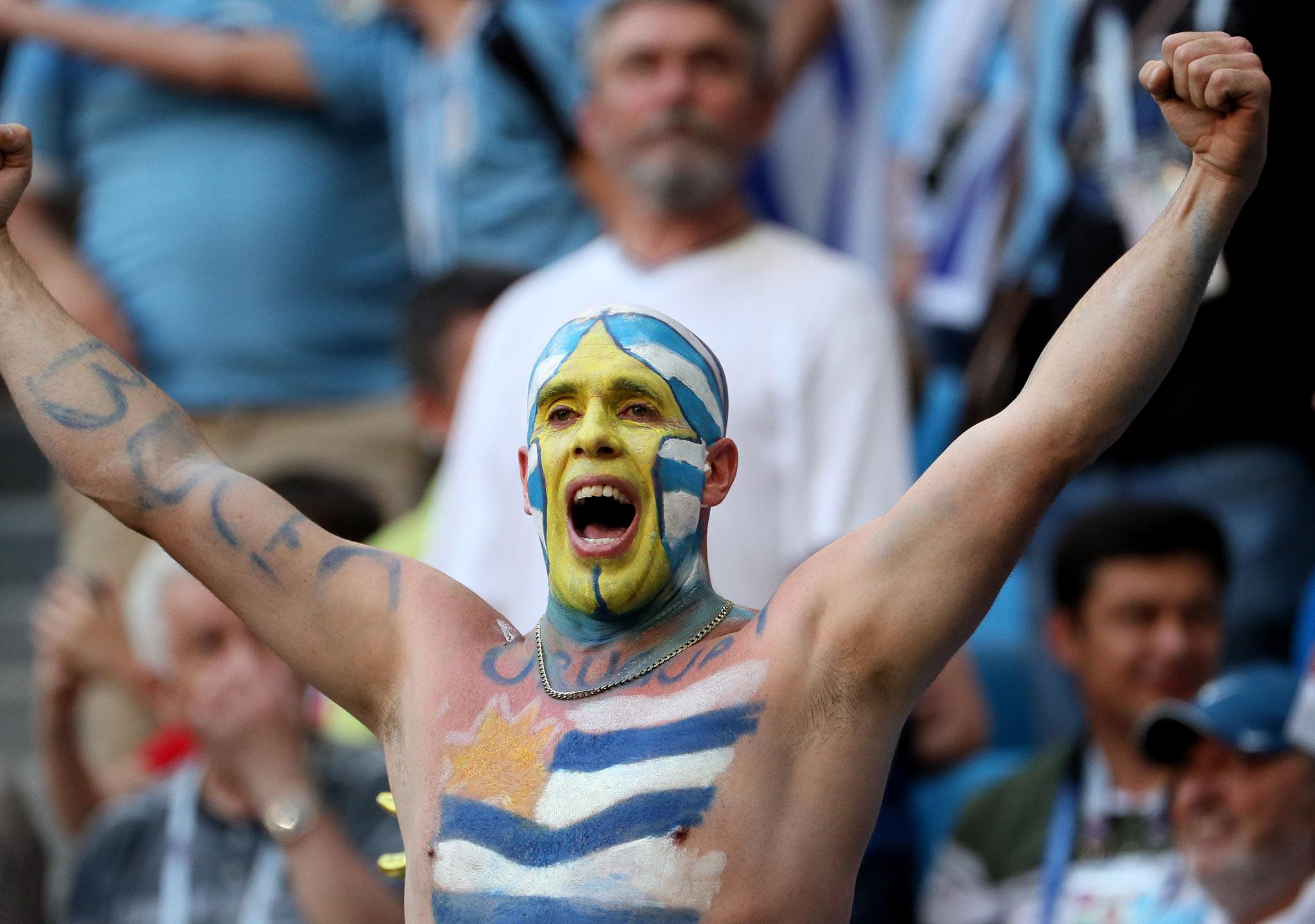 Uruguay pasa por todo lo alto