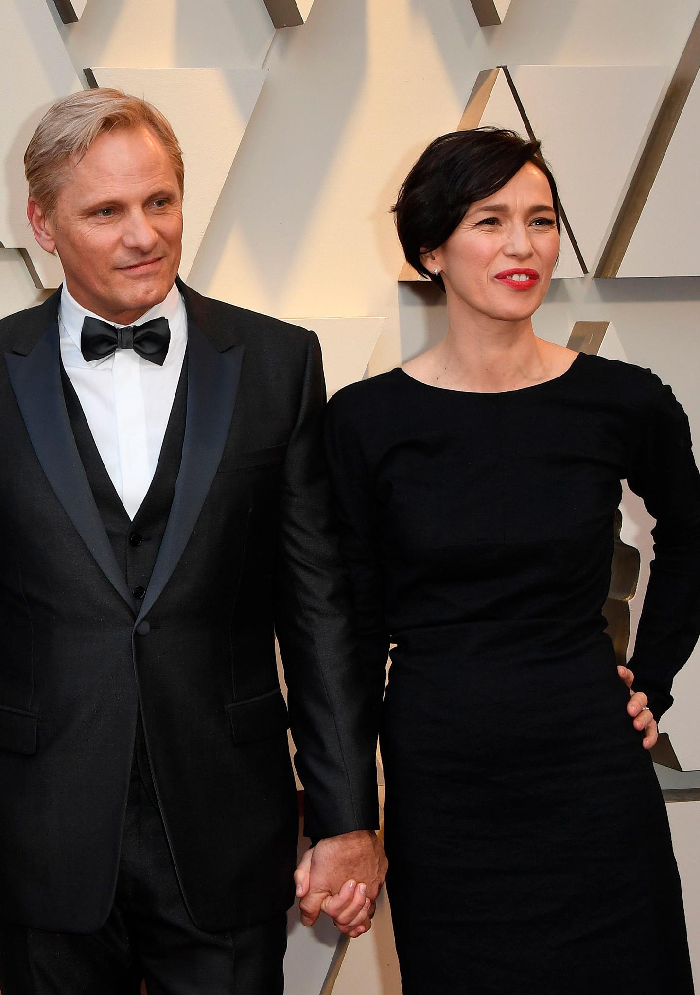 Viggo Mortensen y Ariadna Gil