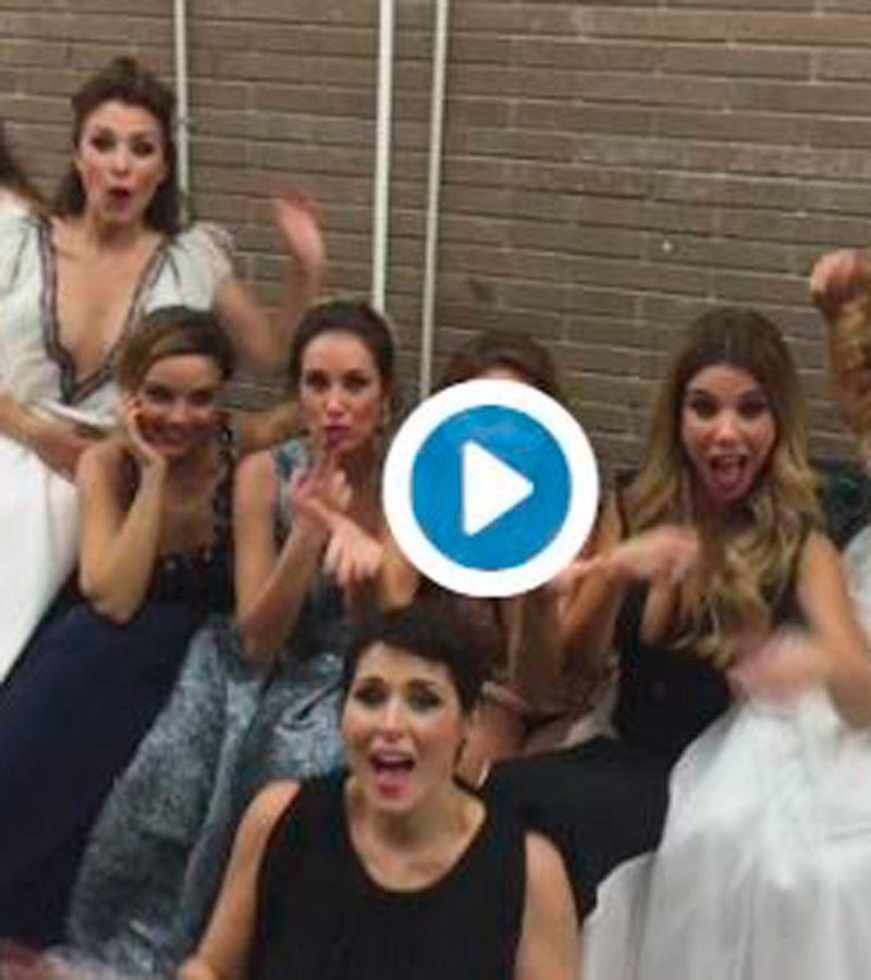Las chicas, después del concierto