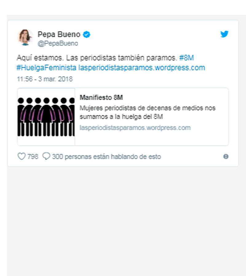 #LasPeriodistasParamos