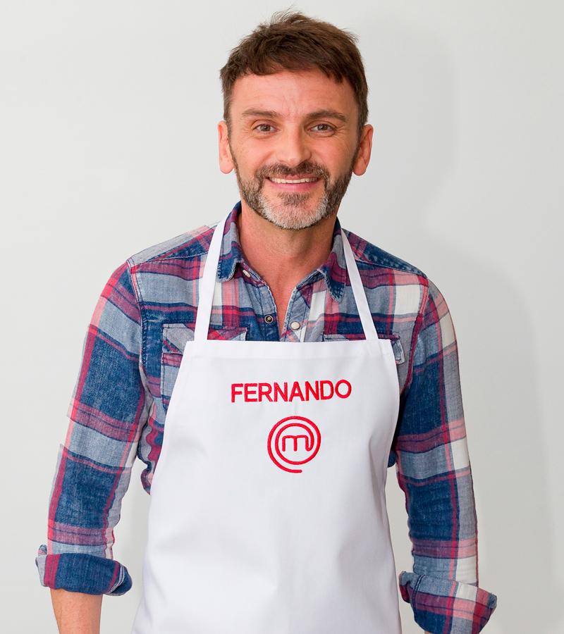 Fernando Tejero, finalista en MasterChef Celebrity