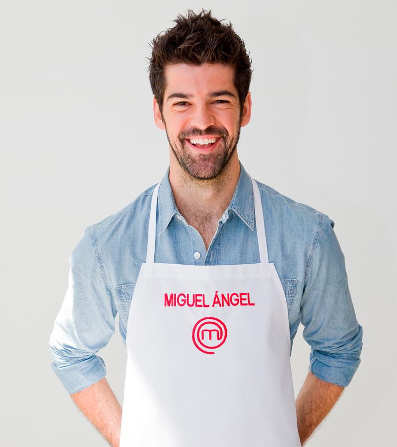 Miguel Ángel Muñoz, finalista en MasterChef Celebrity
