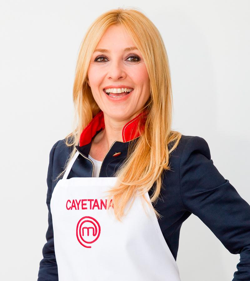 Cayetana Guillén-Cuervo, finalista en MasterChef Celebrity