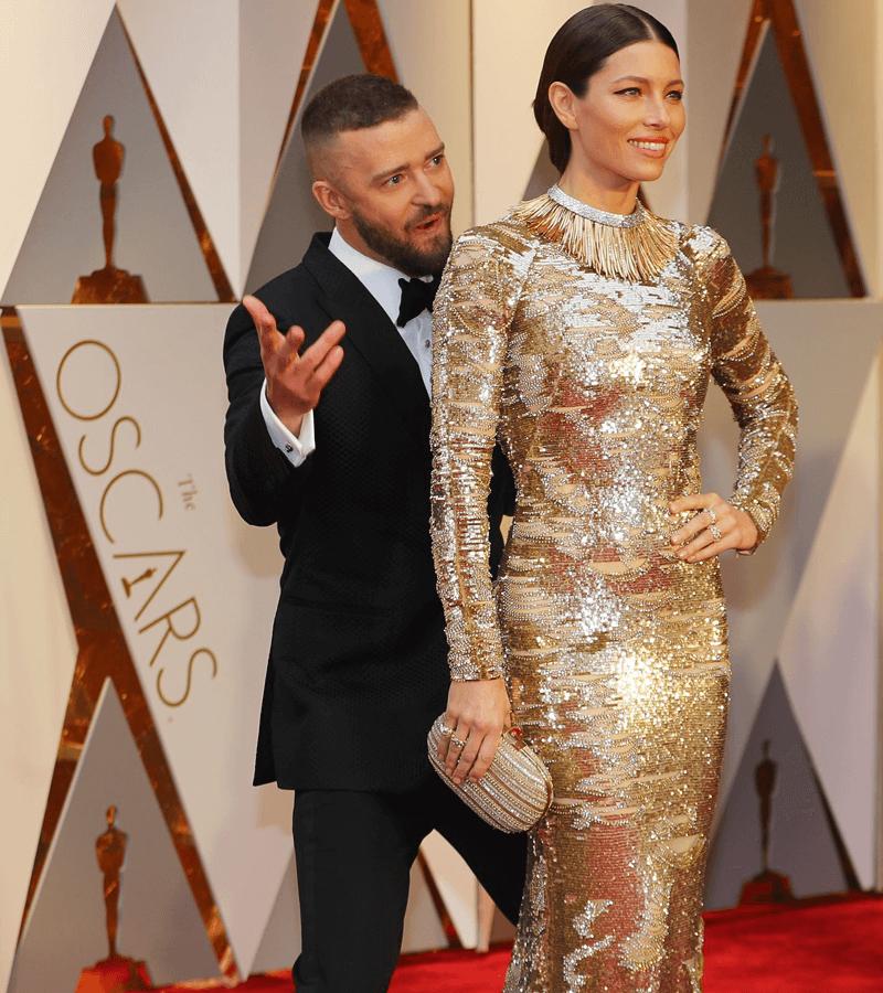 Justin Timberlake y su mujer la actriz Jessica Biel