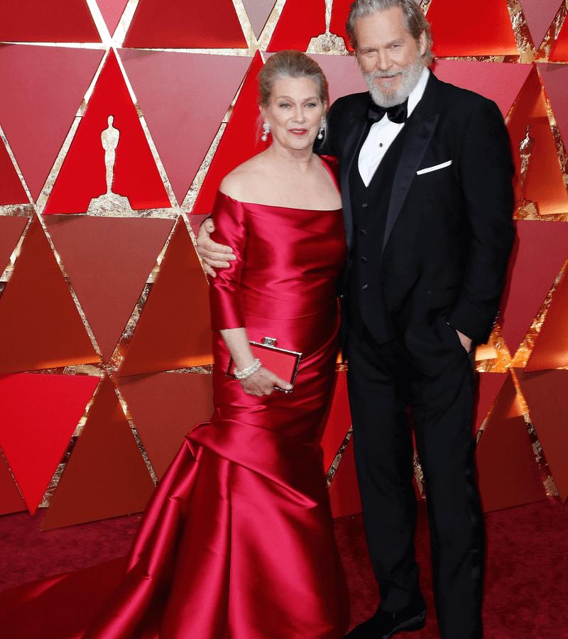 Jeff Bridges y Susan Geston