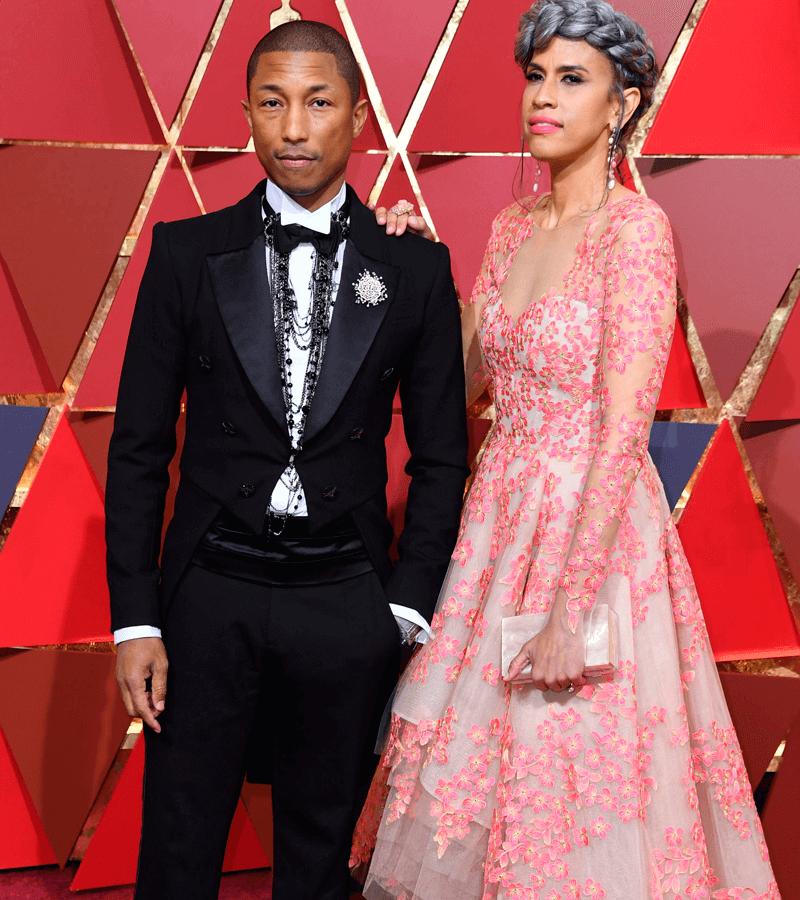 Pharrell Williams y Mimi Vades
