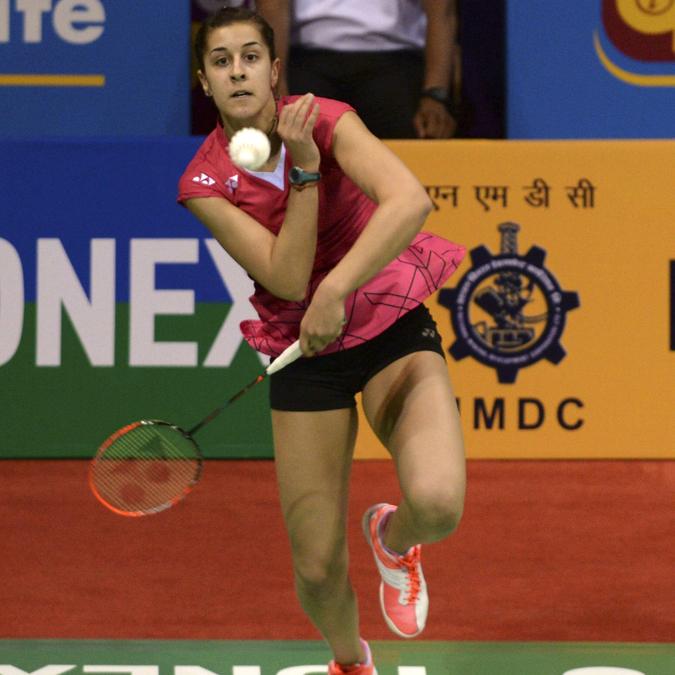 Carolina Marín, campeona olímpica de bádminton