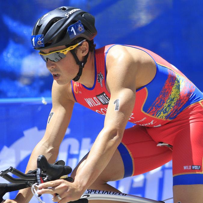 Javier Gómez Noya, campeón del mundo de triatlón