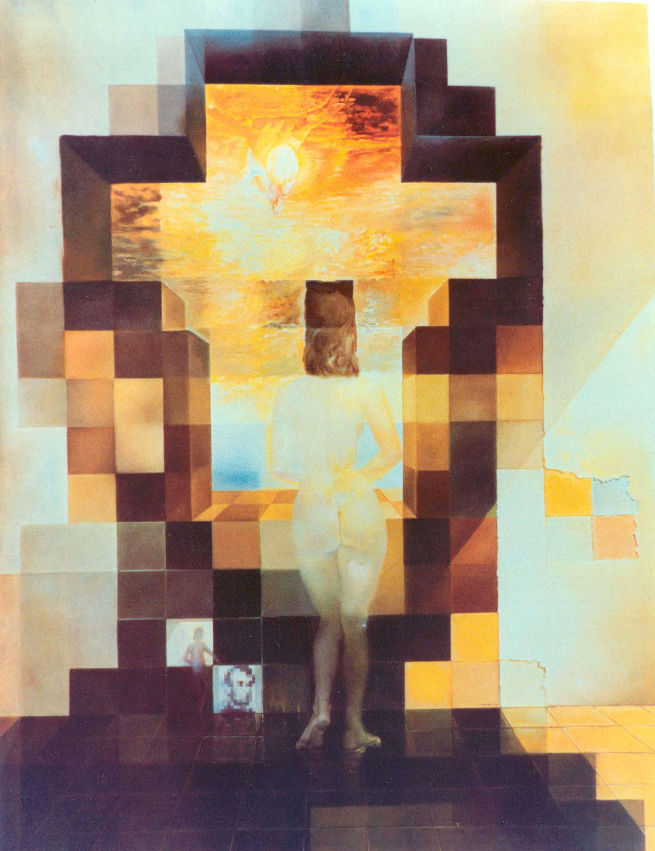 Revelando A Dalí Gala Desnuda Mirando Al Mar Lab Rtve Es Lab Rtve Es