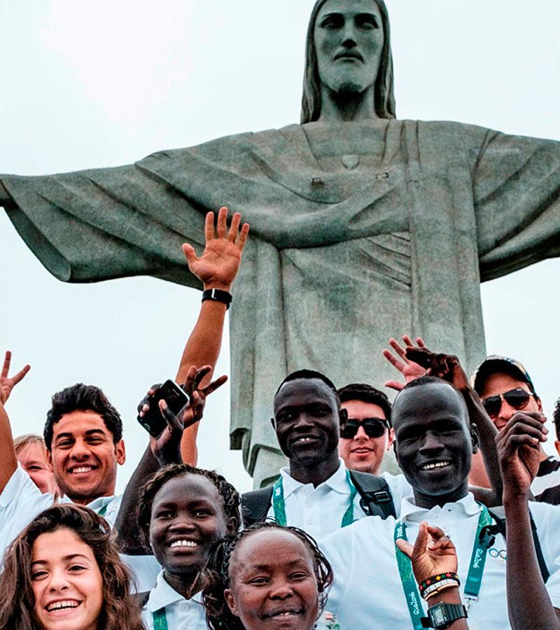 Por primera vez, un grupo de deportistas exiliados de sus países participarán bajo bandera neutral