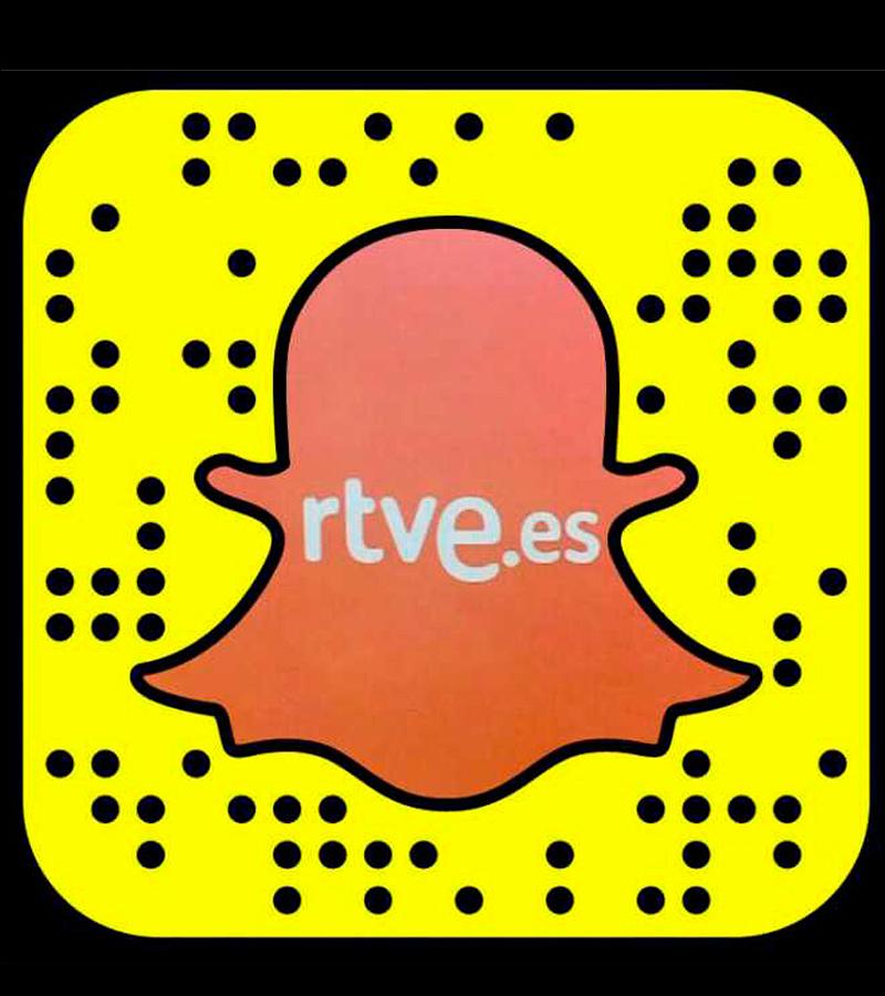 Cuenta de Snapchat de RTVE