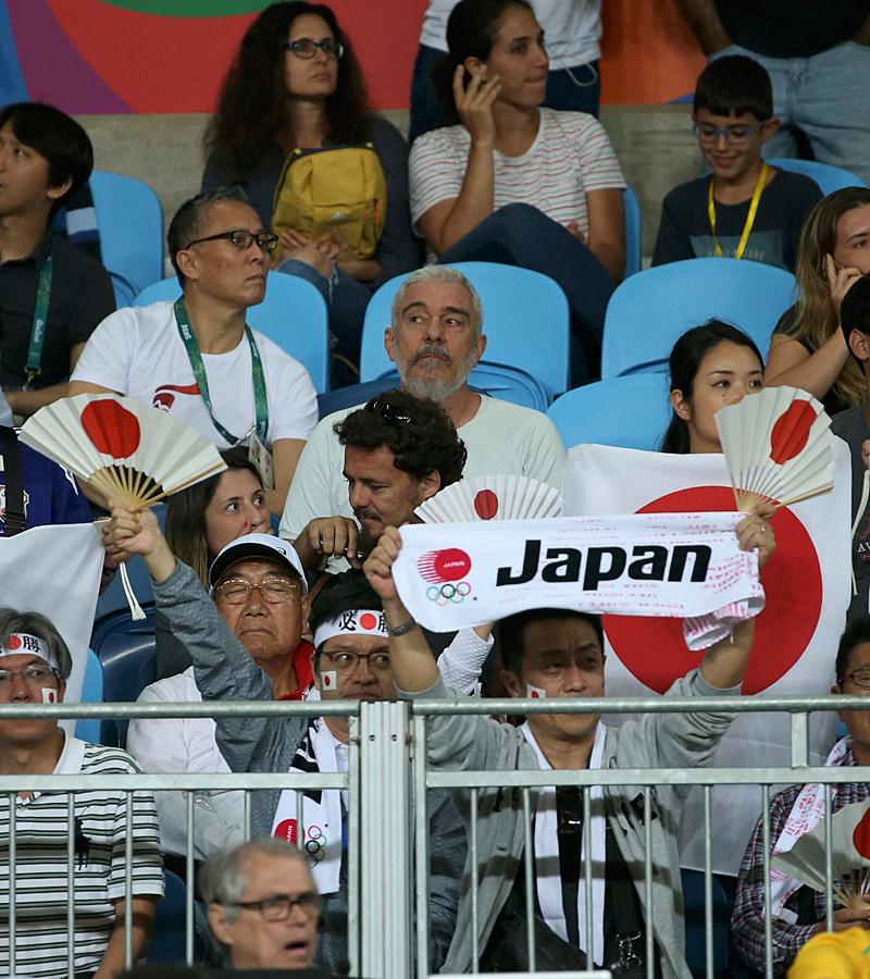 Público en Río 2016: juego para emparejar gradas y deportes