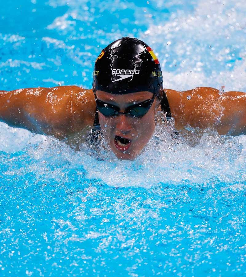 Mireia Belomonte consigue el oro en 200 m mariposa