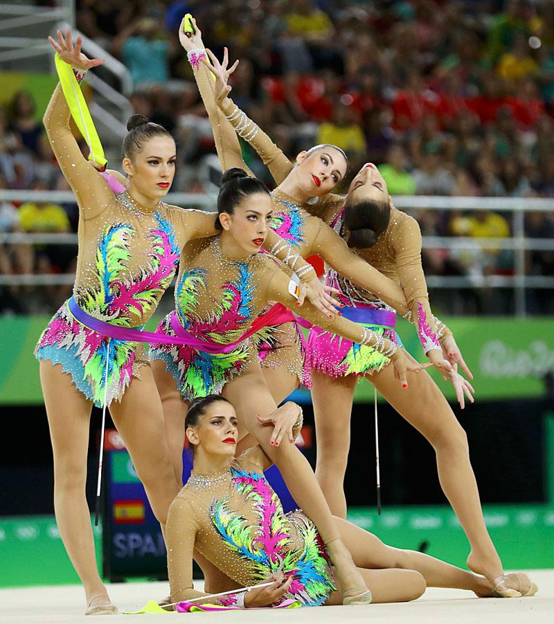 ¿Cuál es el mejor maillot de gimnasia rítmica de Río?