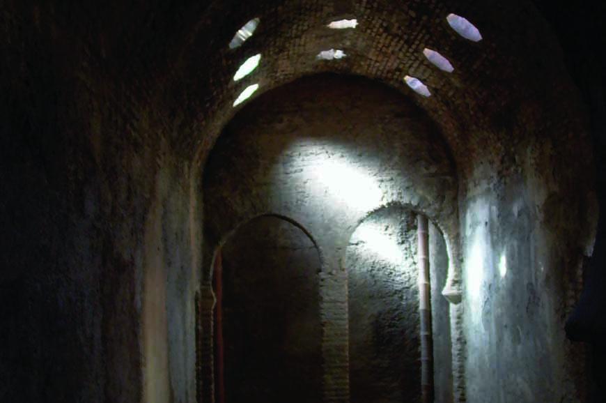 Baños Arabes Real De La Alhambra:Cuadro de la Rendición de Granada en la serie Isabel