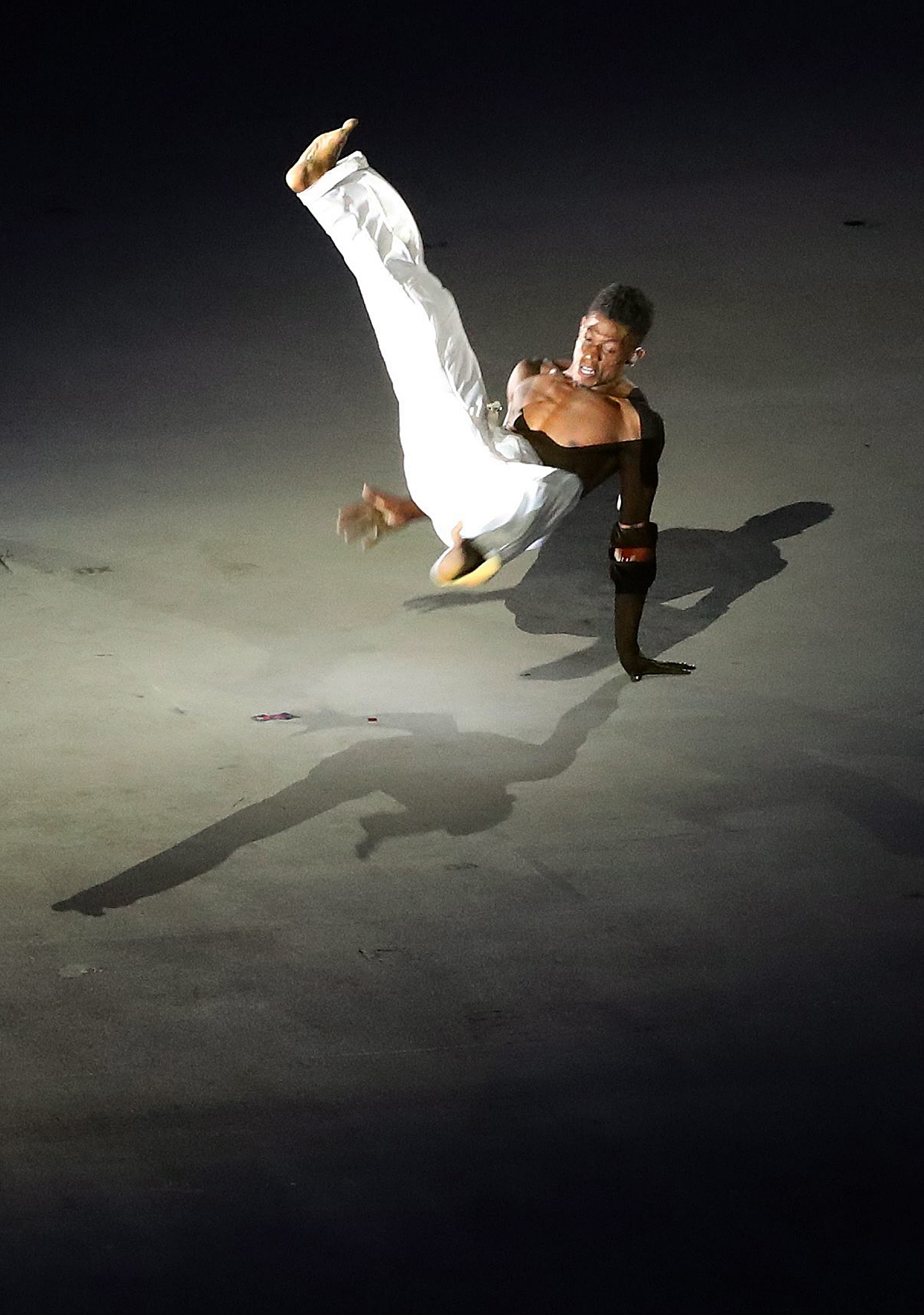 Capoeira y la música de la calle