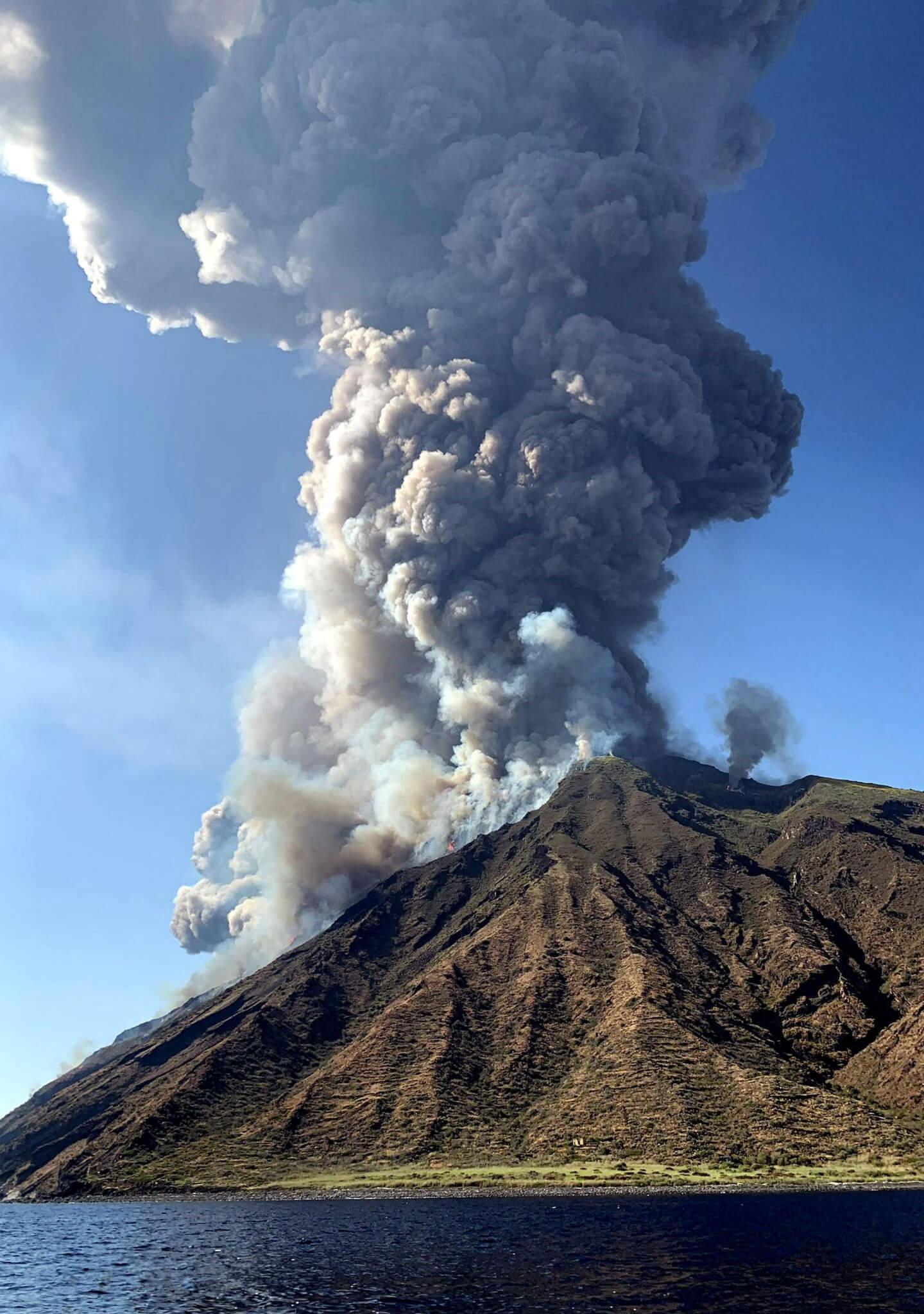 Erupción más fuerte desde 1985