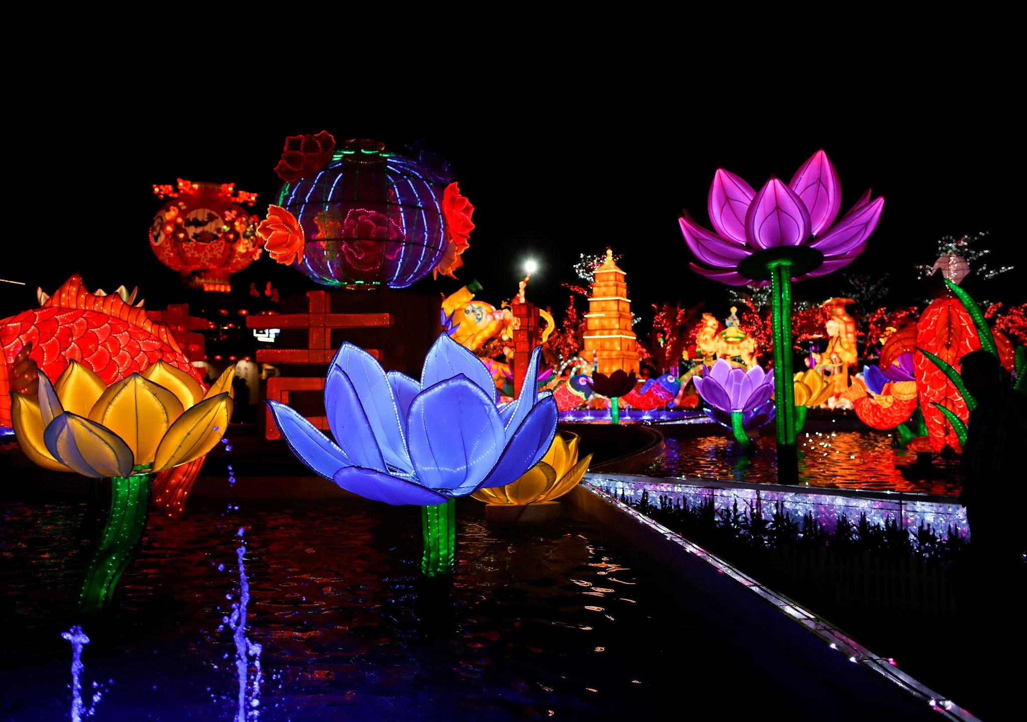 Un despliegue espectacular en Asia y todo el mundo